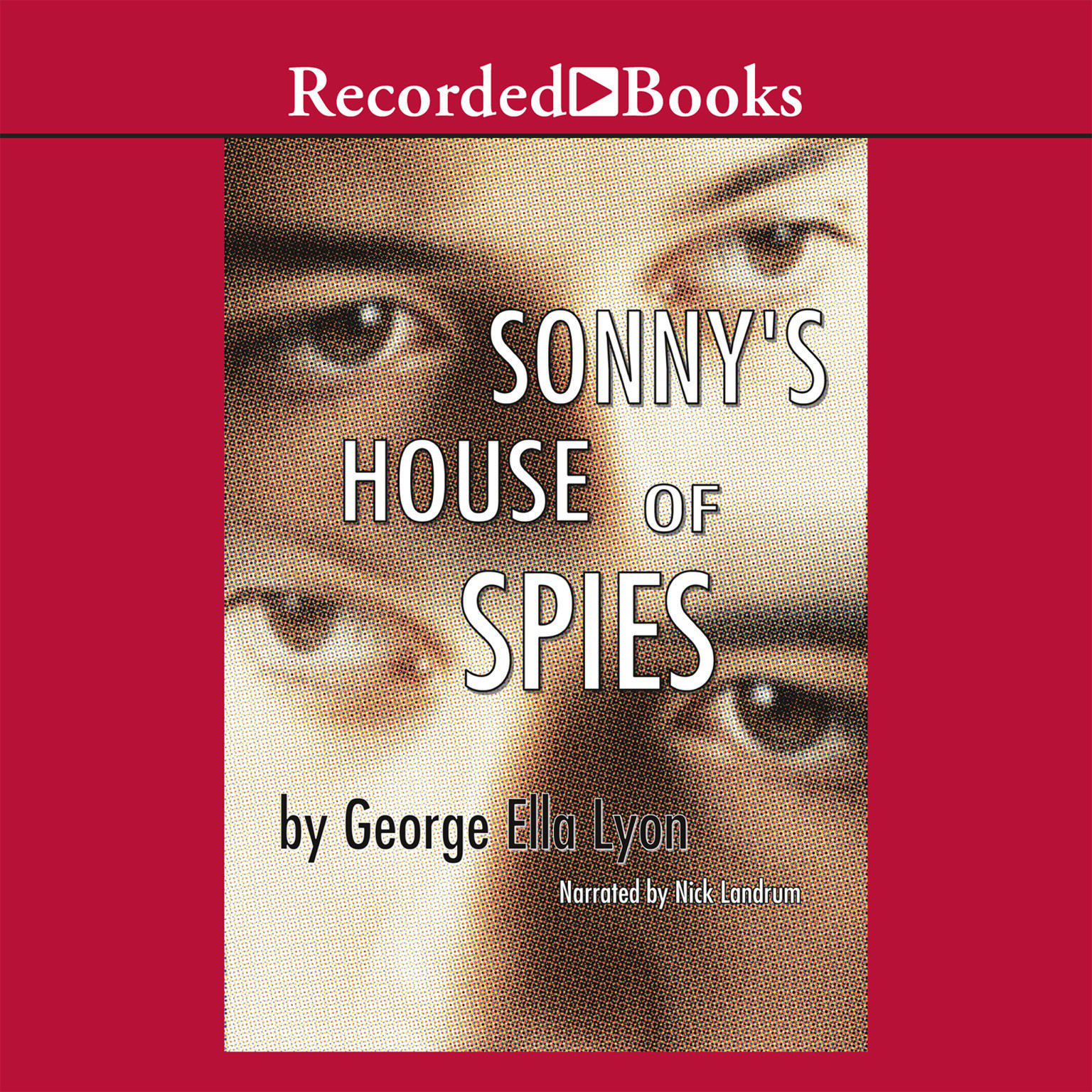 Printable Sonny's House of Spies Audiobook Cover Art