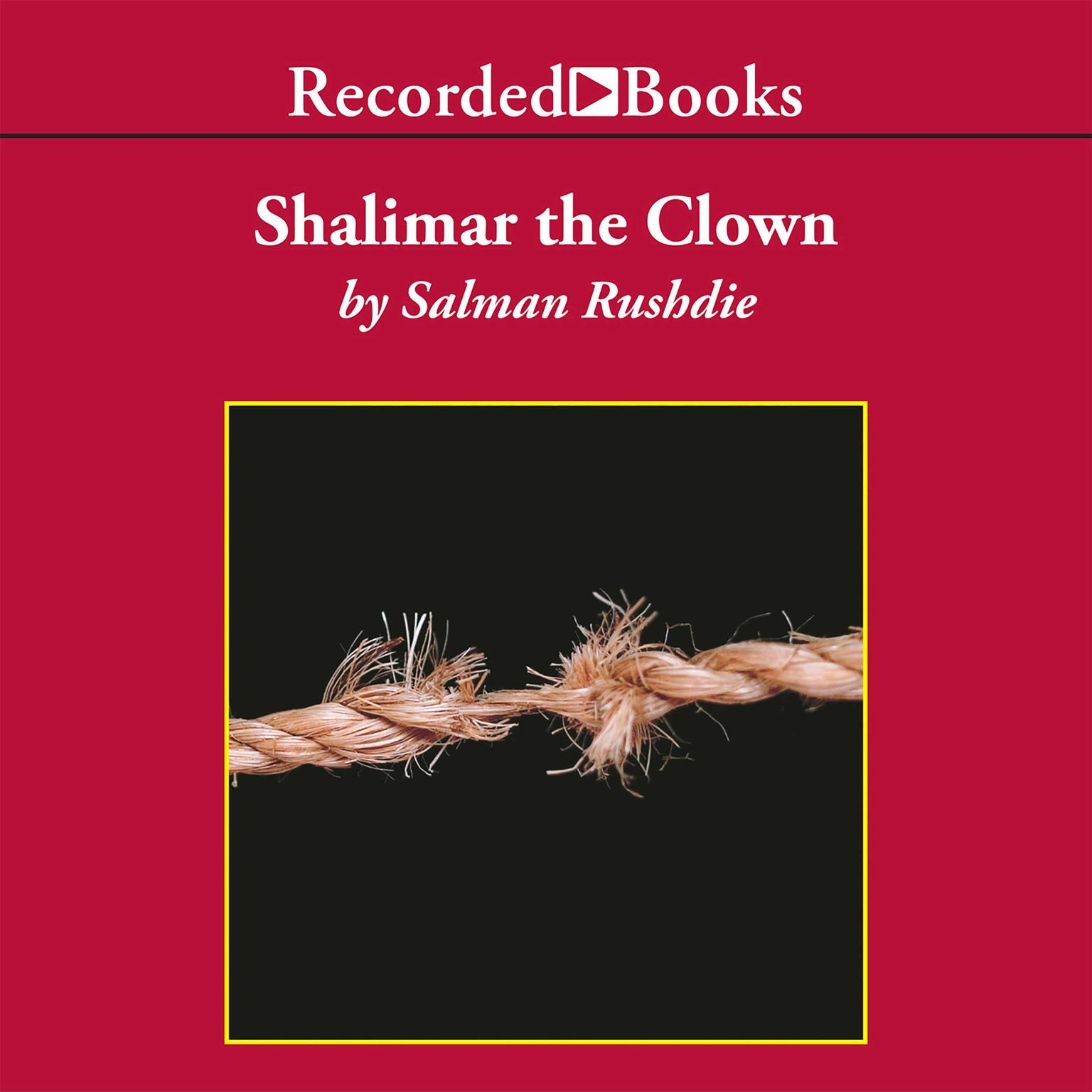 Printable Shalimar the Clown Audiobook Cover Art