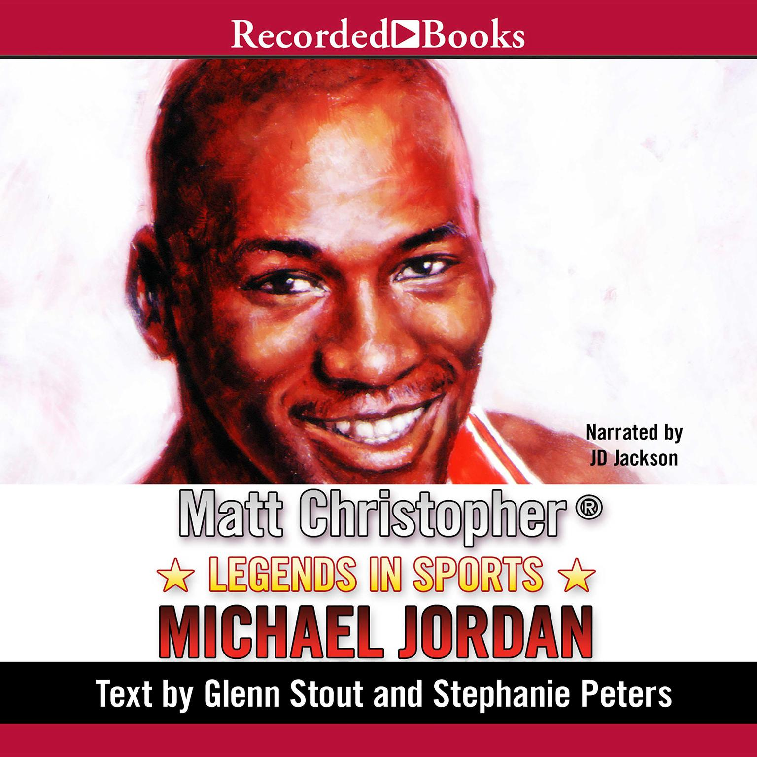 Printable Legends in Sports: Michael Jordan Audiobook Cover Art