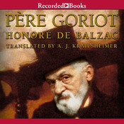 Le Père Goriot Audiobook, by Honoré de Balzac