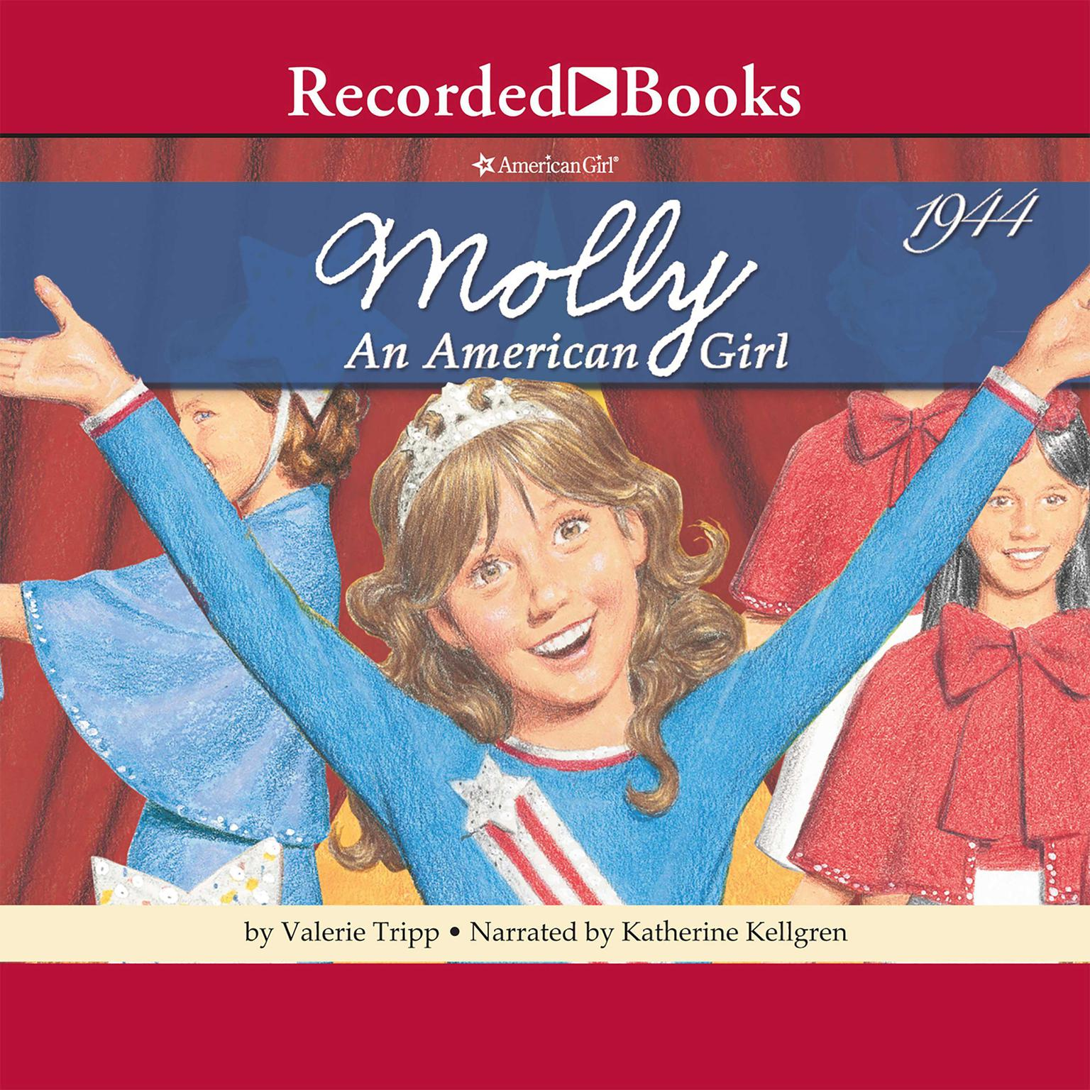Printable Meet Molly: An American Girl: 1944 Audiobook Cover Art