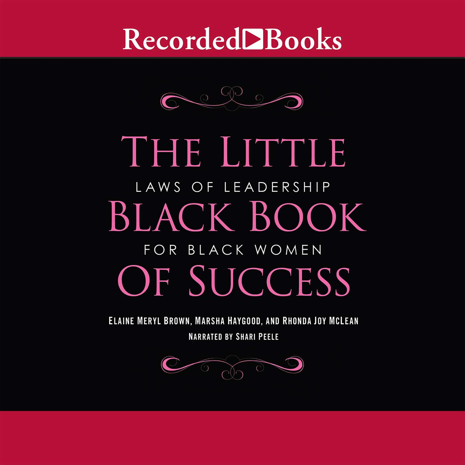 Printable Little Black Book of Success: Laws of Leadership for Black Women Audiobook Cover Art