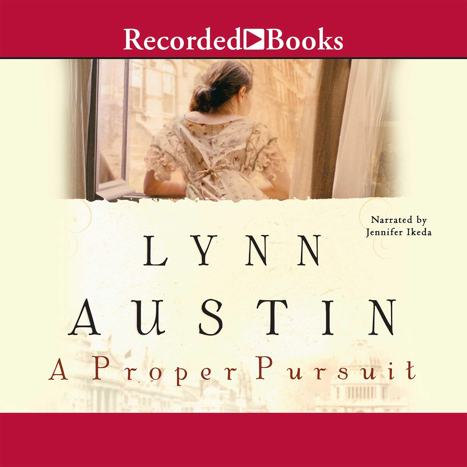 Printable A Proper Pursuit Audiobook Cover Art