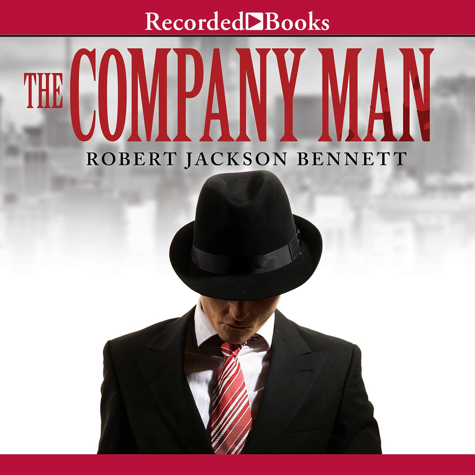 Printable The Company Man Audiobook Cover Art