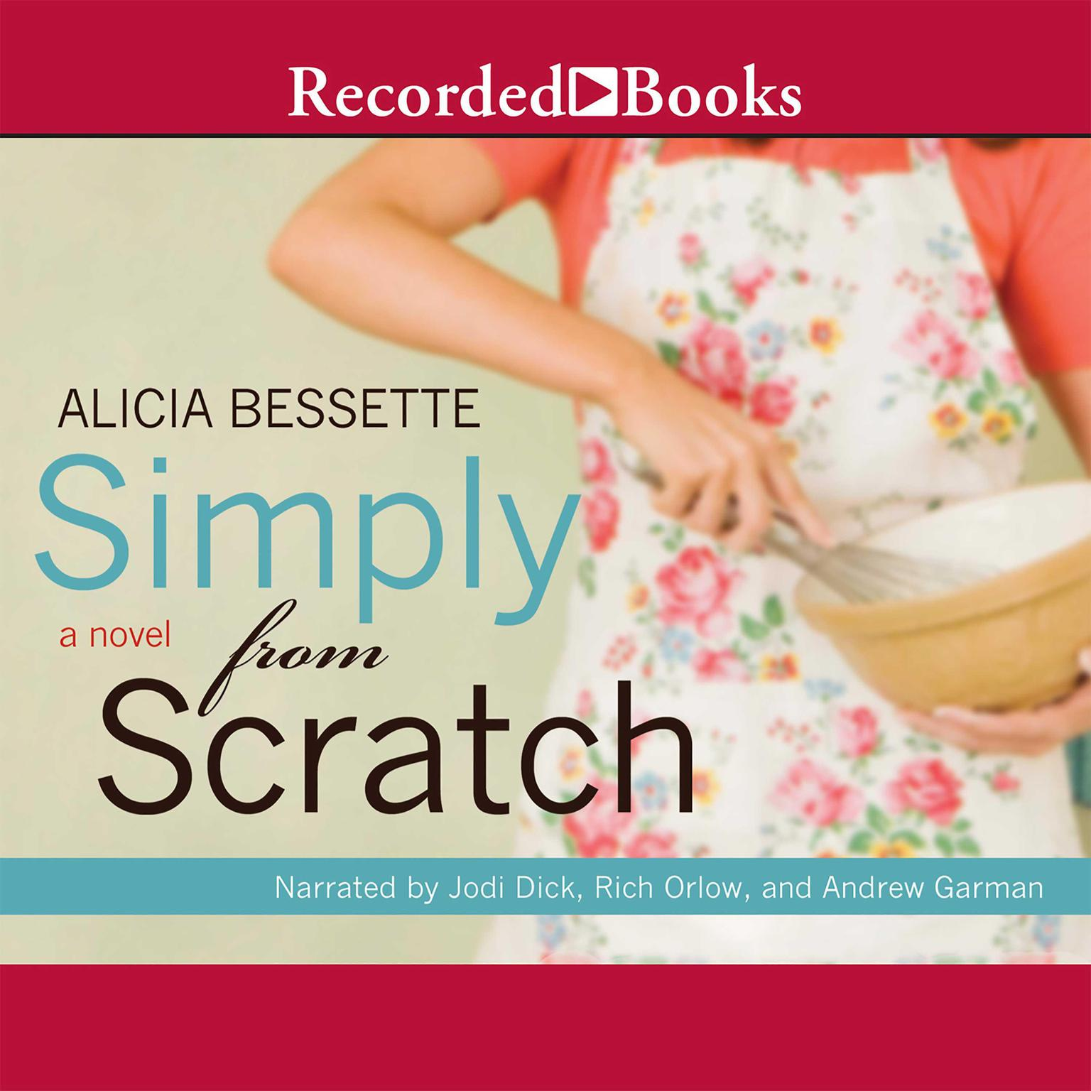 Printable Simply from Scratch Audiobook Cover Art