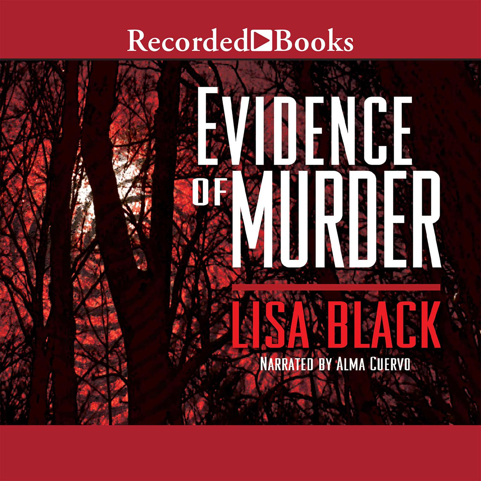 Printable Evidence of Murder Audiobook Cover Art
