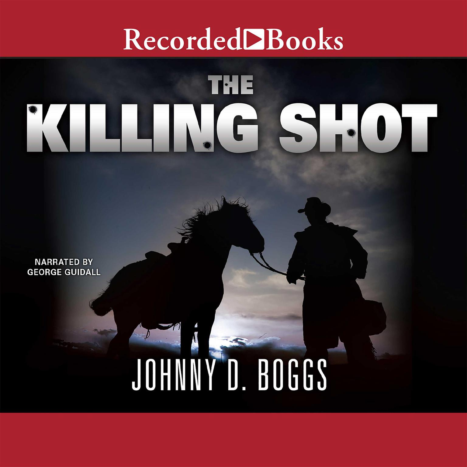 Printable The Killing Shot Audiobook Cover Art
