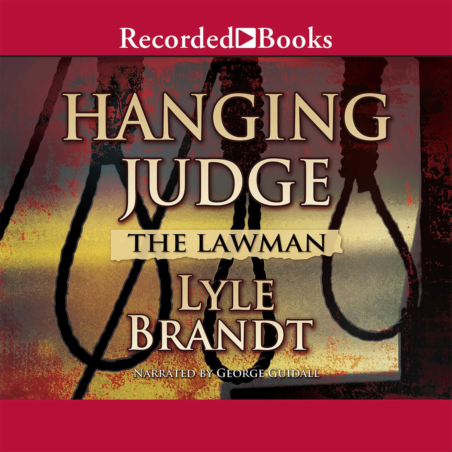 Printable Hanging Judge Audiobook Cover Art
