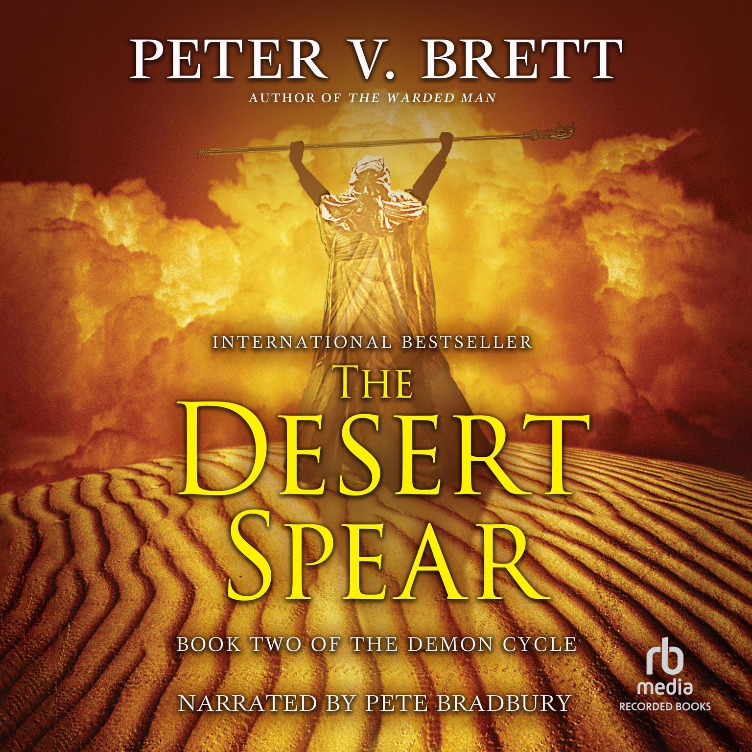 Printable The Desert Spear Audiobook Cover Art