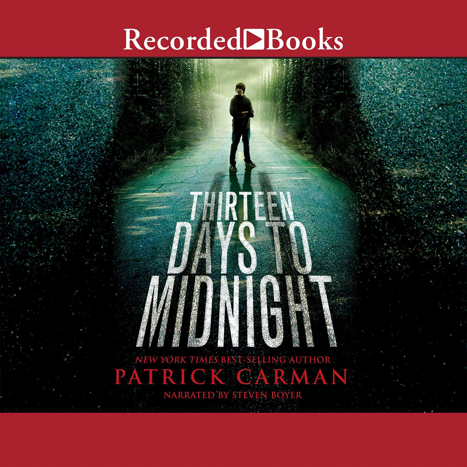 Printable Thirteen Days to Midnight Audiobook Cover Art