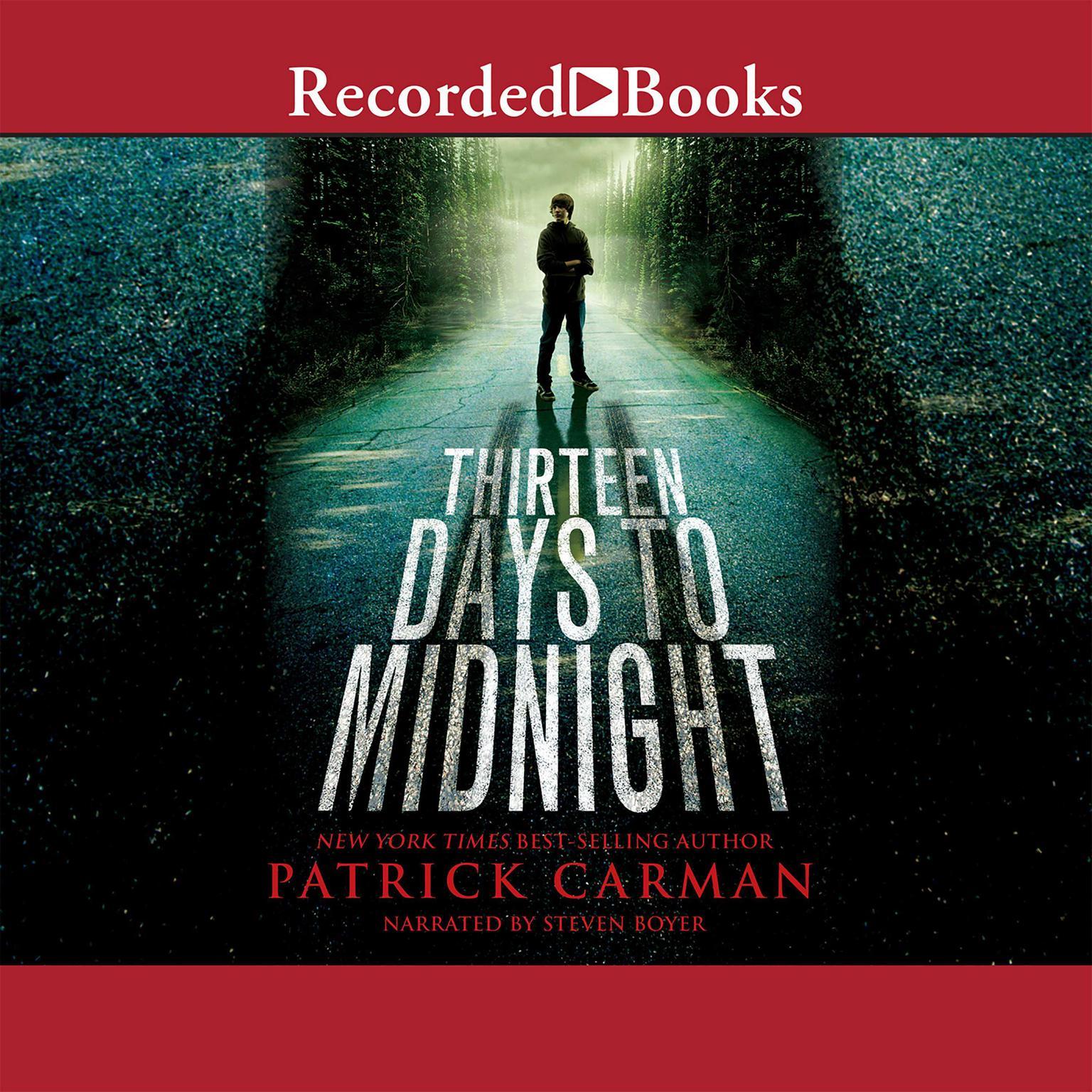 Printable Thirteen Days to Midnight Audiobook Cover Art