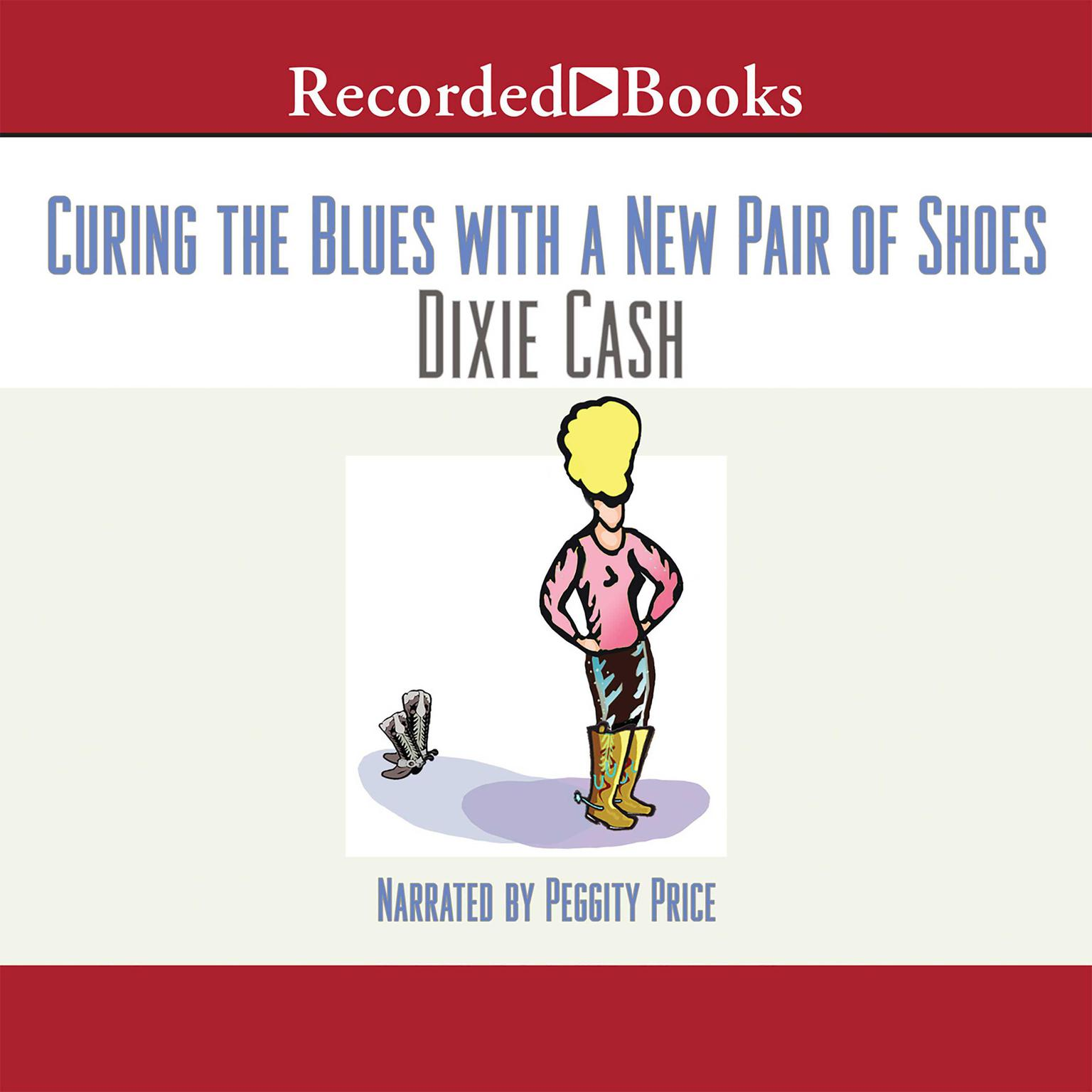 Printable Curing the Blues with a New Pair of Shoes Audiobook Cover Art