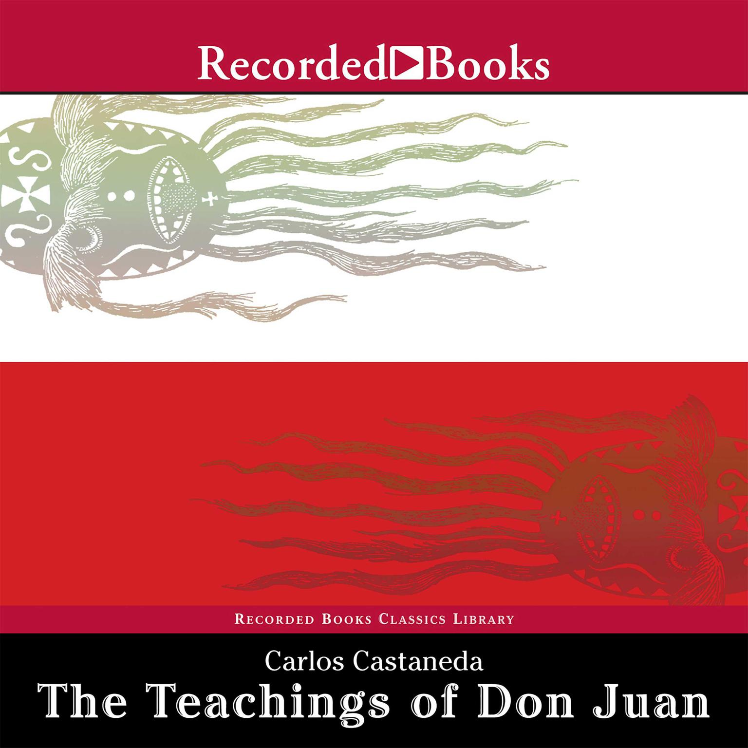 Printable The Teachings of Don Juan: A Yaqui Way of Knowledge Audiobook Cover Art