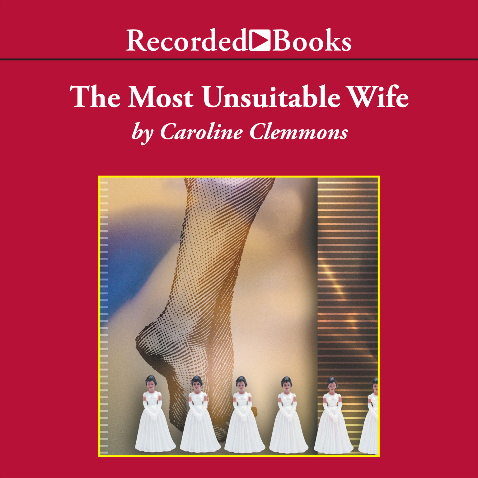 Printable The Most Unsuitable Wife Audiobook Cover Art