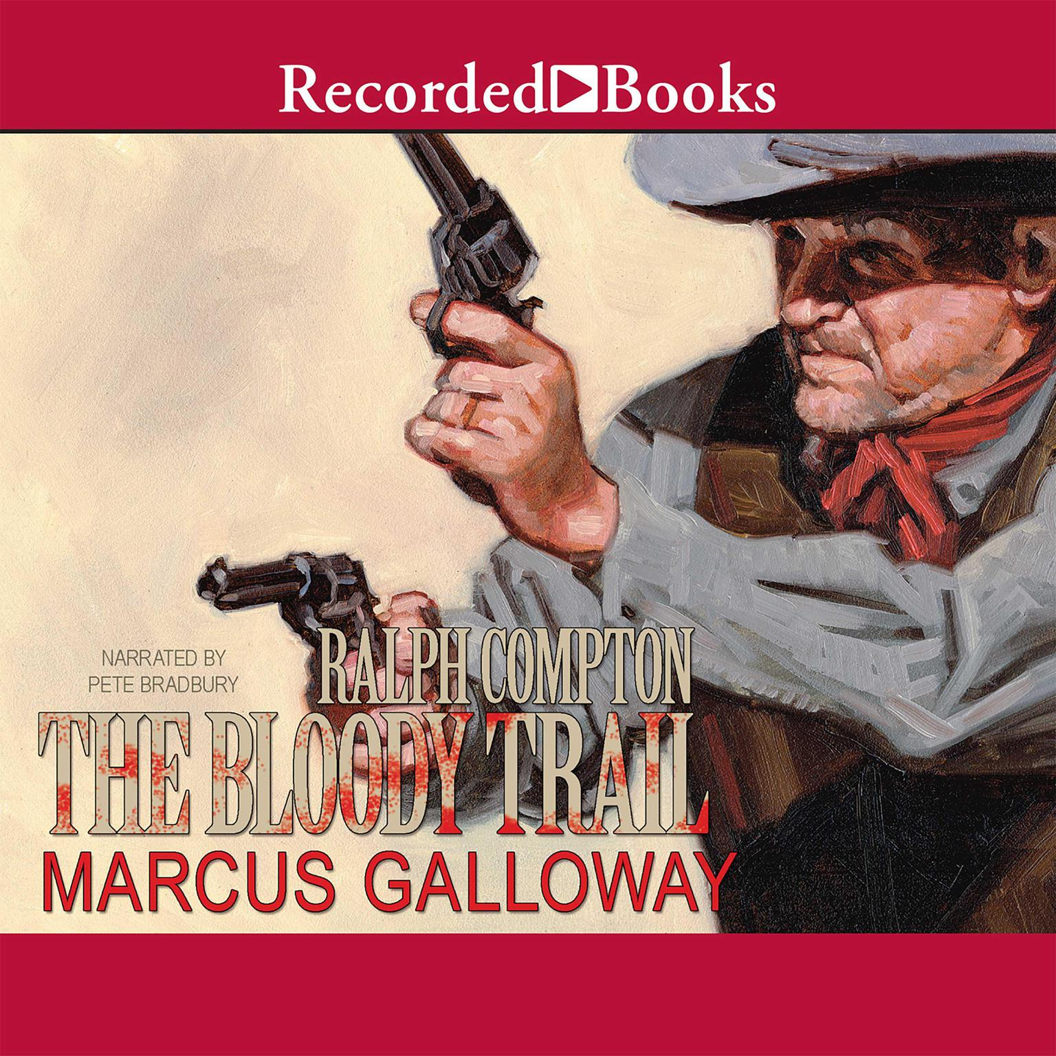 Printable The Bloody Trail Audiobook Cover Art