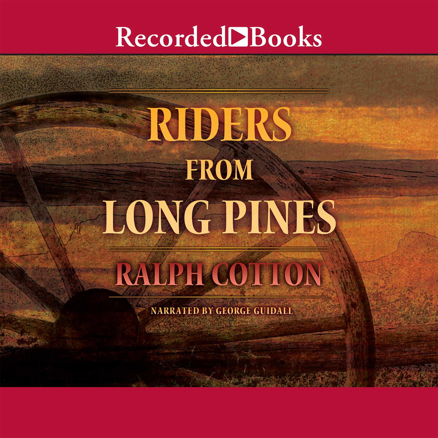 Printable Riders from Long Pines Audiobook Cover Art