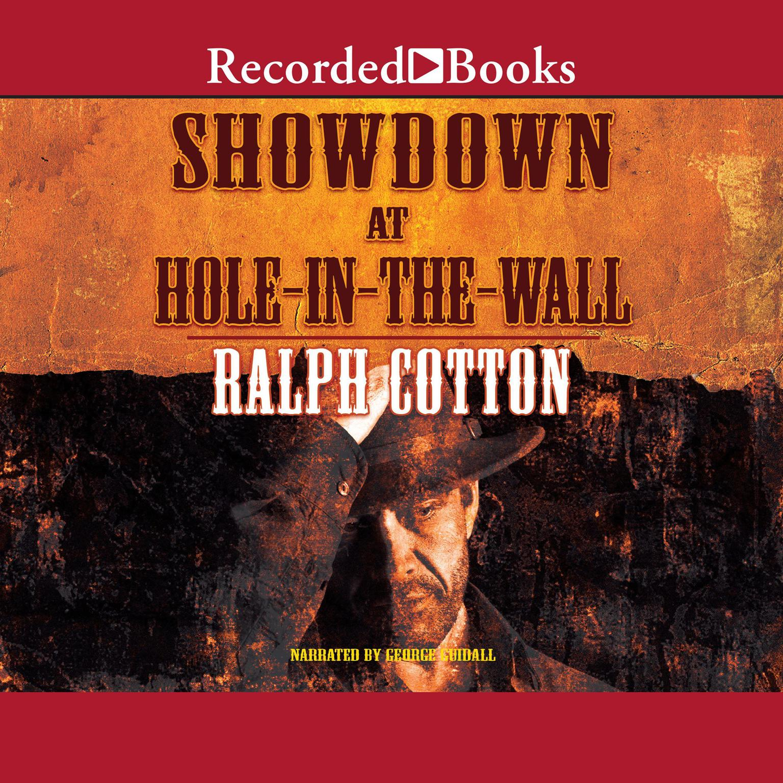 Printable Showdown at Hole in the Wall Audiobook Cover Art