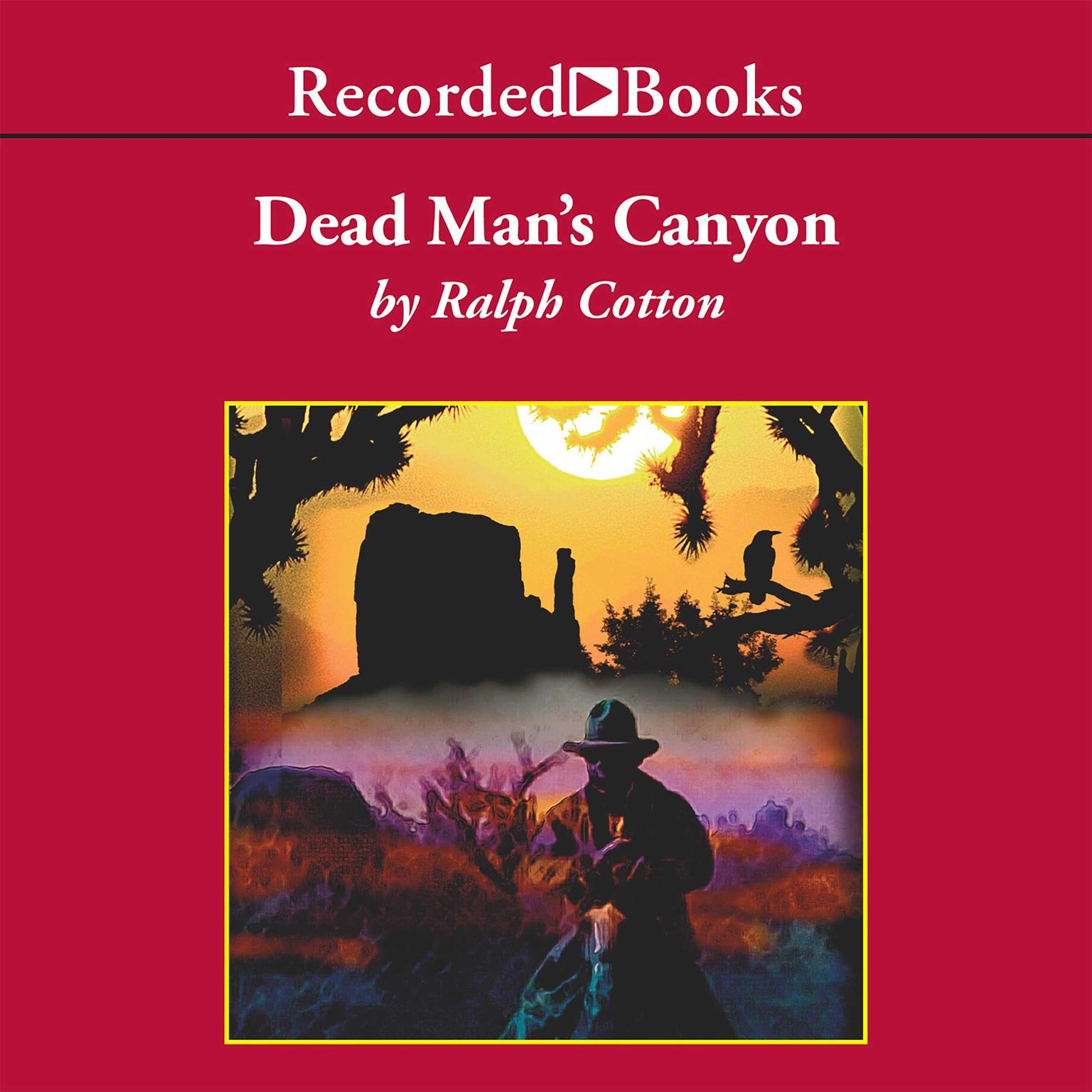 Printable Dead Man's Canyon Audiobook Cover Art