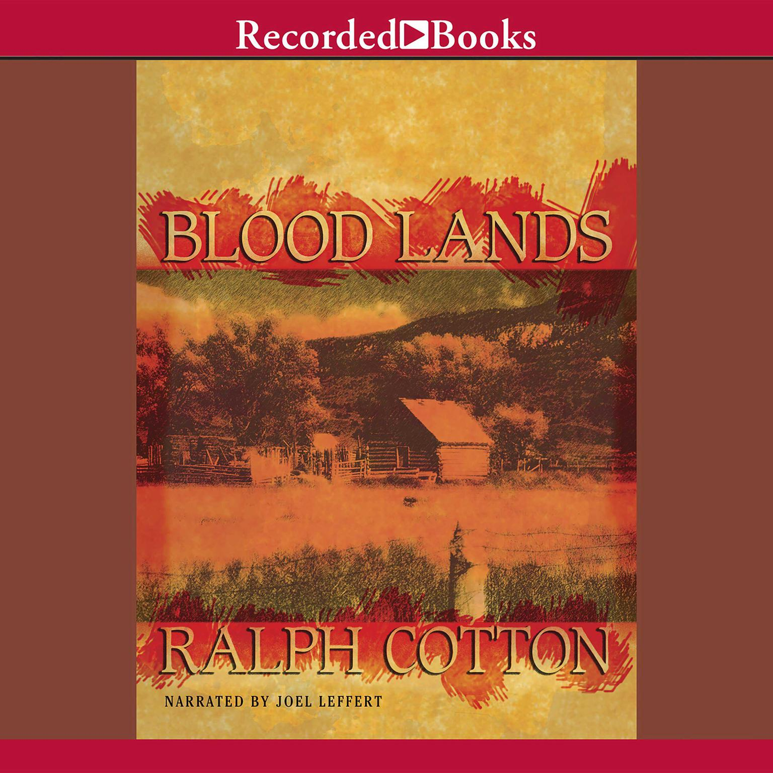 Printable Blood Lands Audiobook Cover Art