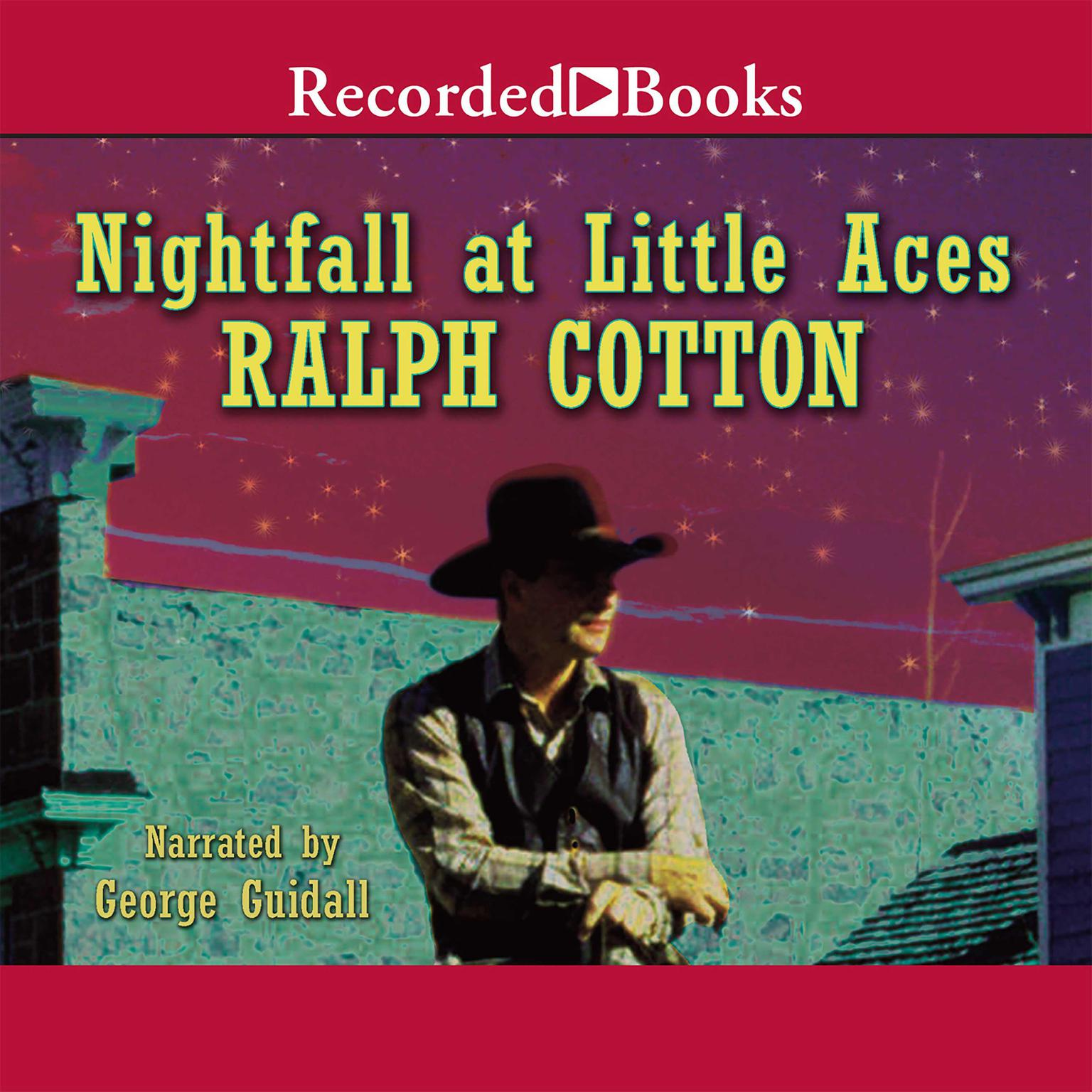Printable Nightfall at Little Aces Audiobook Cover Art