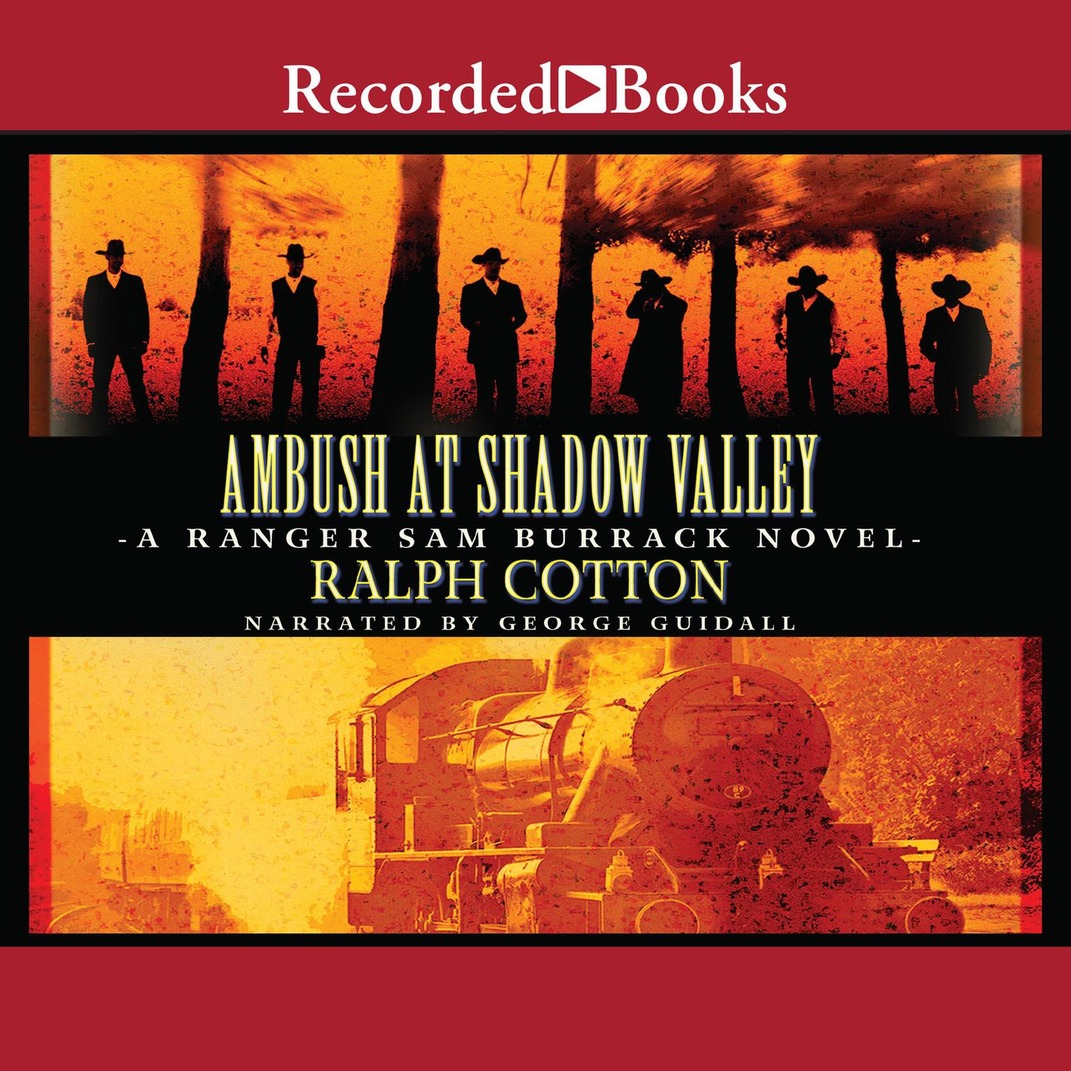 Printable Ambush at Shadow Valley Audiobook Cover Art