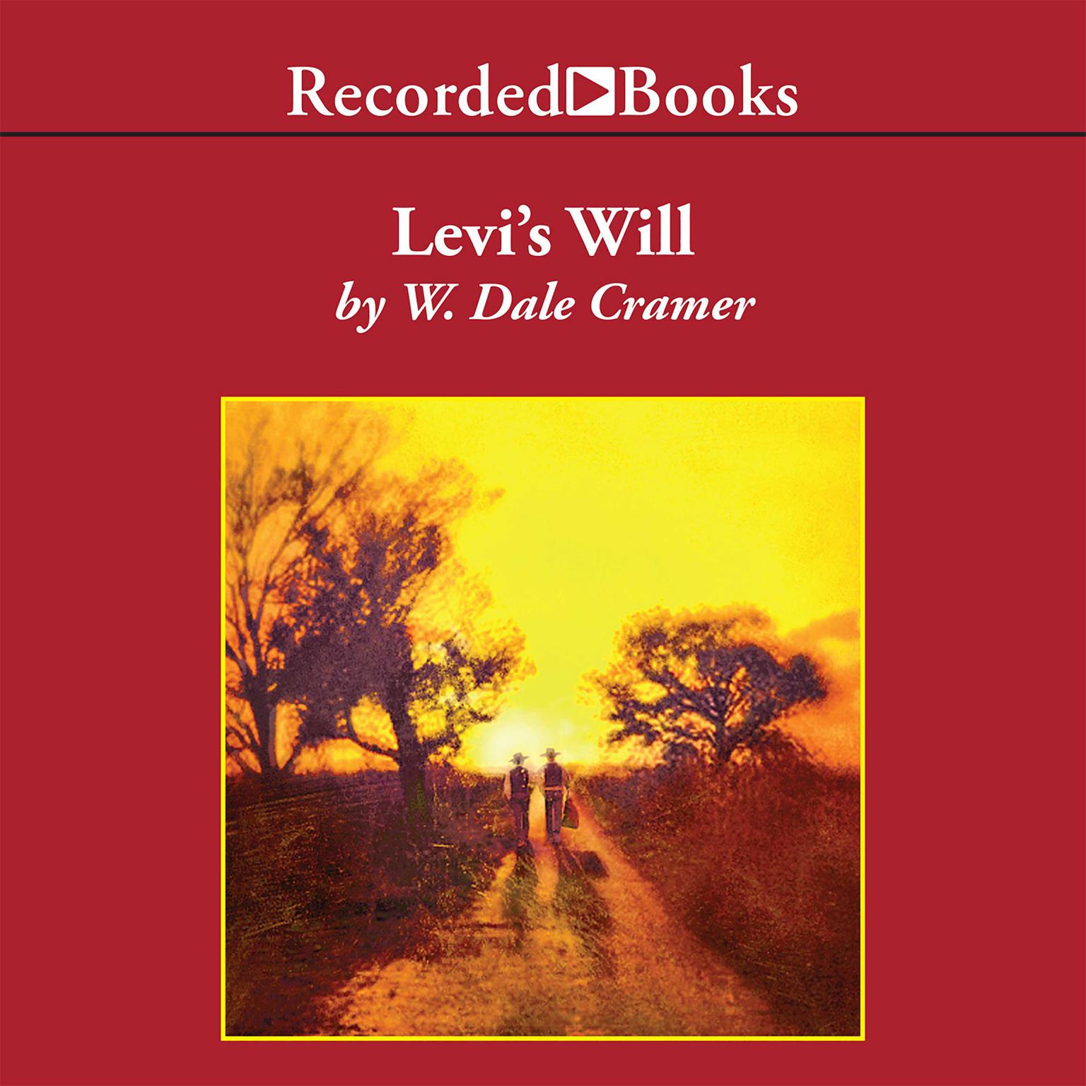 Printable Levi's Will Audiobook Cover Art