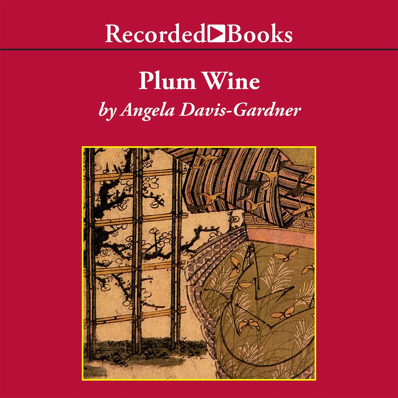Printable Plum Wine Audiobook Cover Art