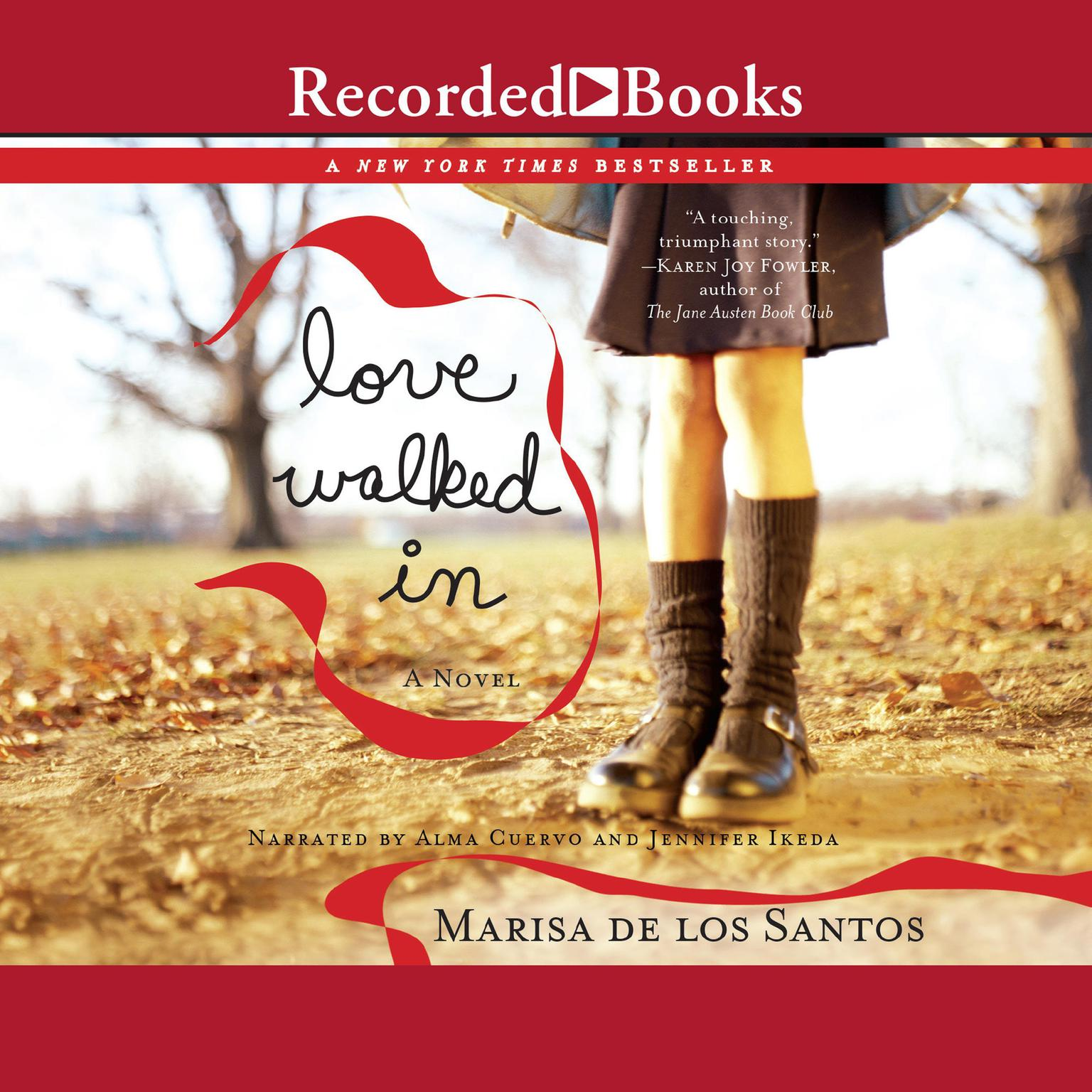 Printable Love Walked In Audiobook Cover Art