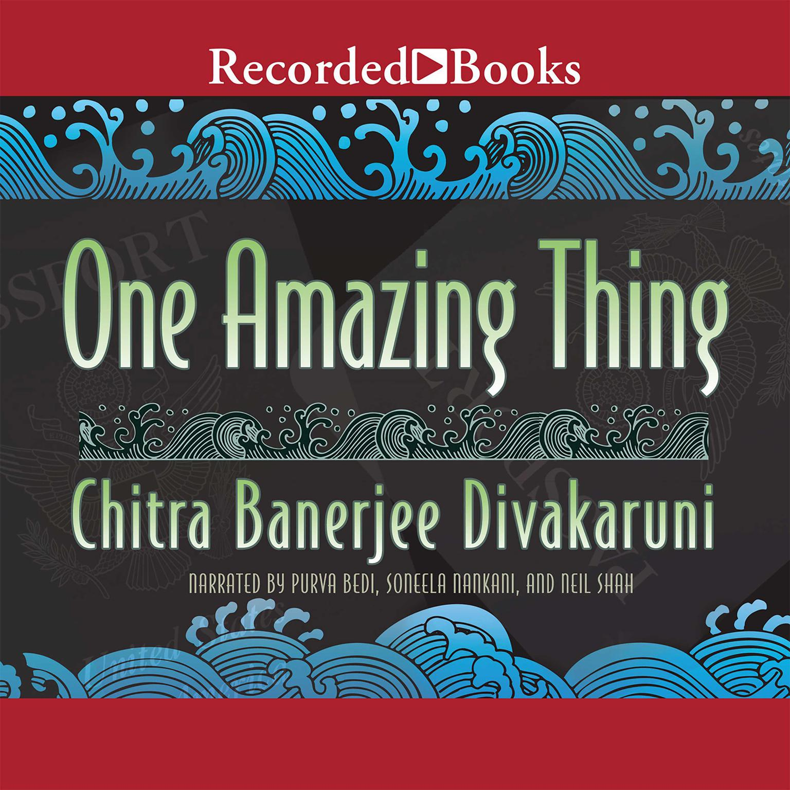 Printable One Amazing Thing Audiobook Cover Art