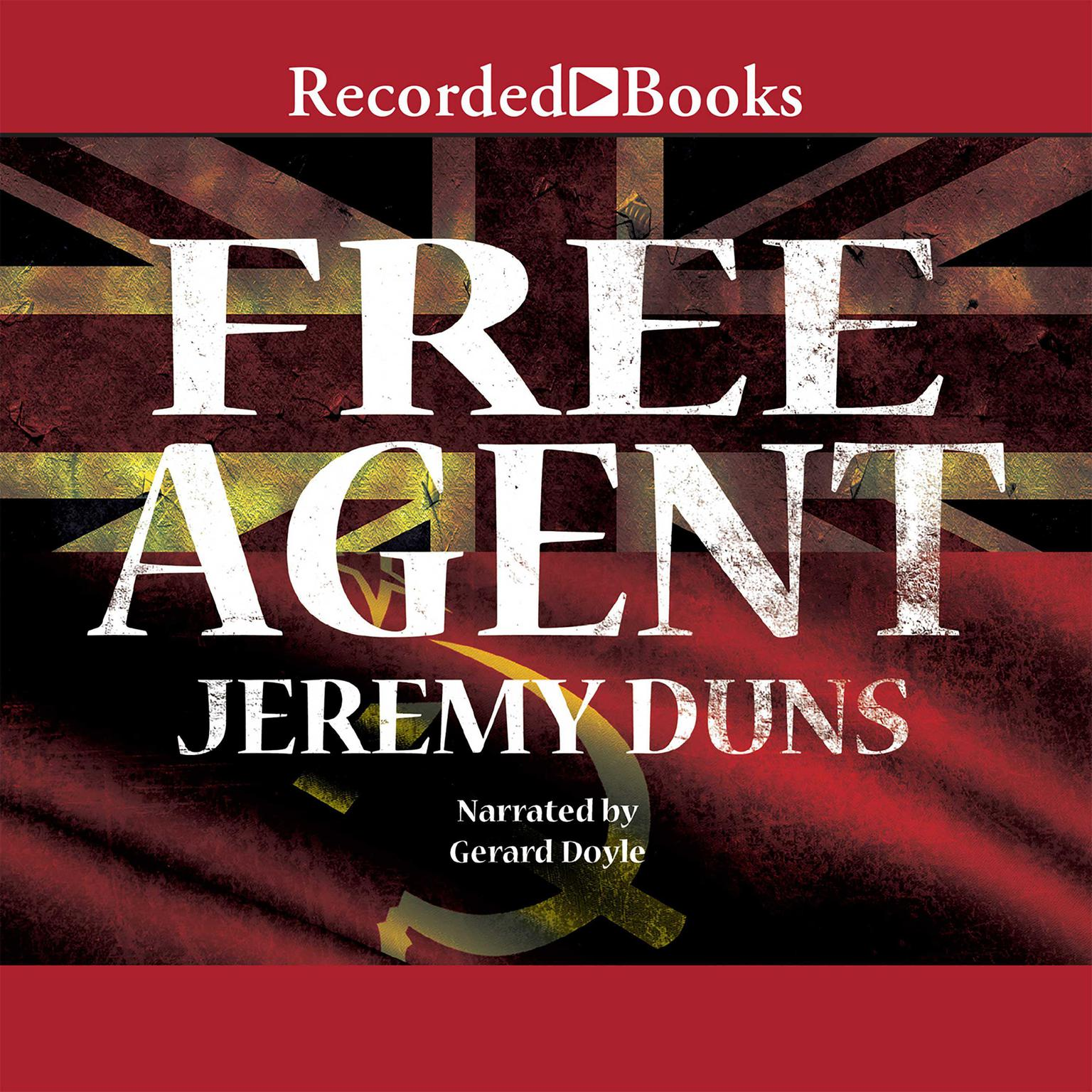 Printable Free Agent Audiobook Cover Art