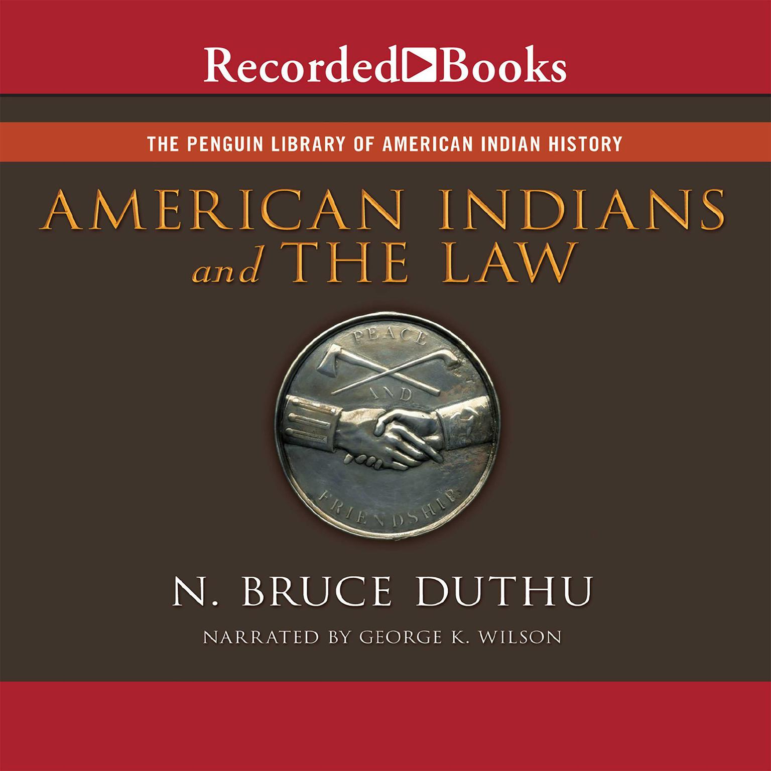 Printable American Indians and the Law Audiobook Cover Art