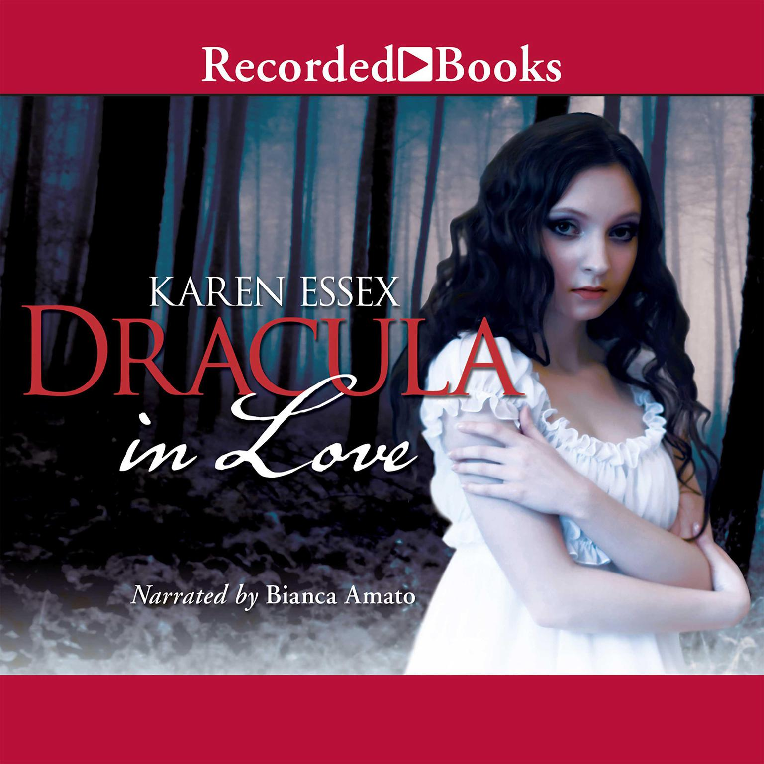 Printable Dracula in Love Audiobook Cover Art