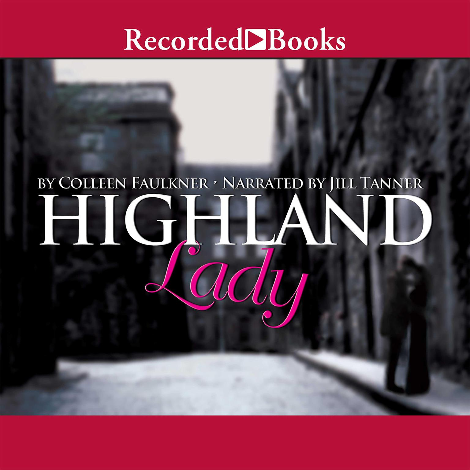Printable Highland Lady Audiobook Cover Art