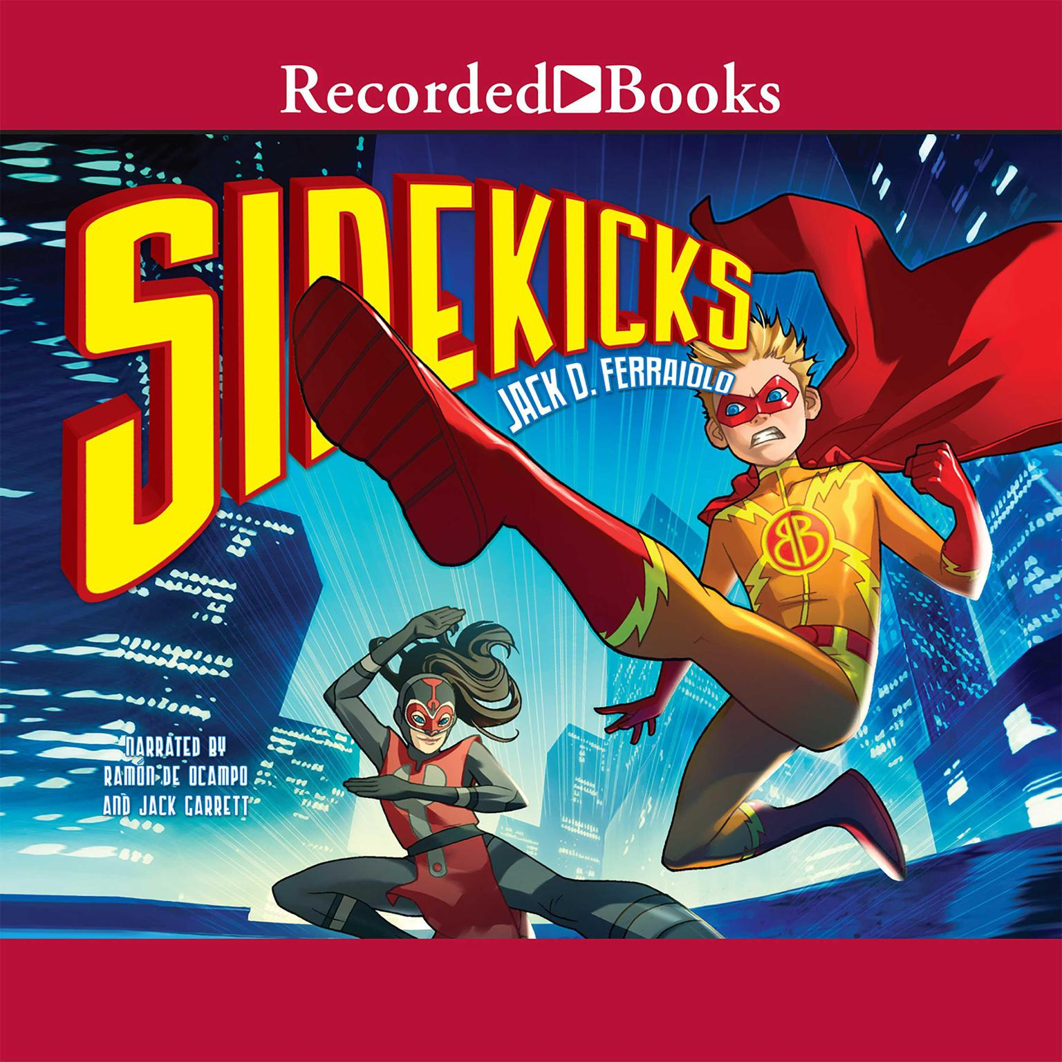 Printable Sidekicks Audiobook Cover Art