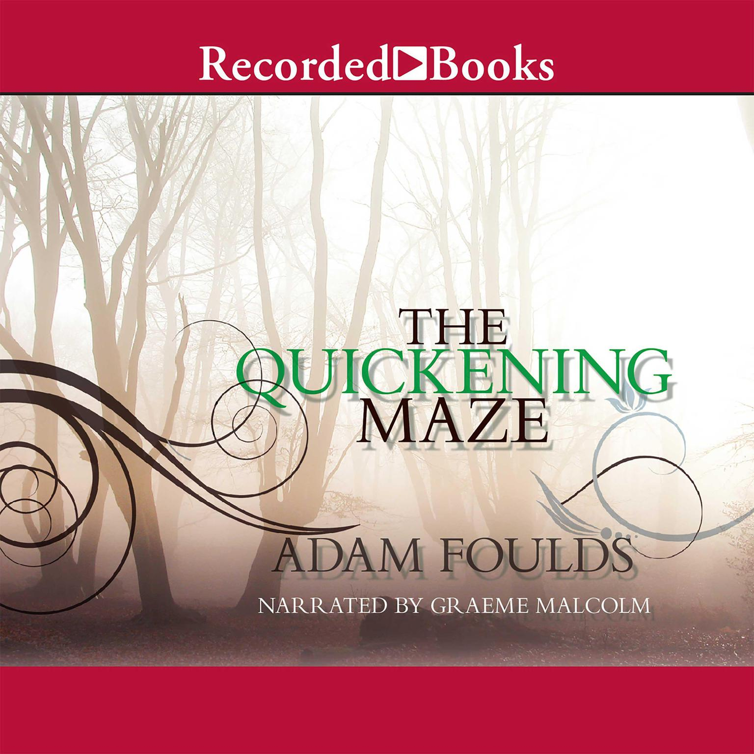Printable The Quickening Maze Audiobook Cover Art