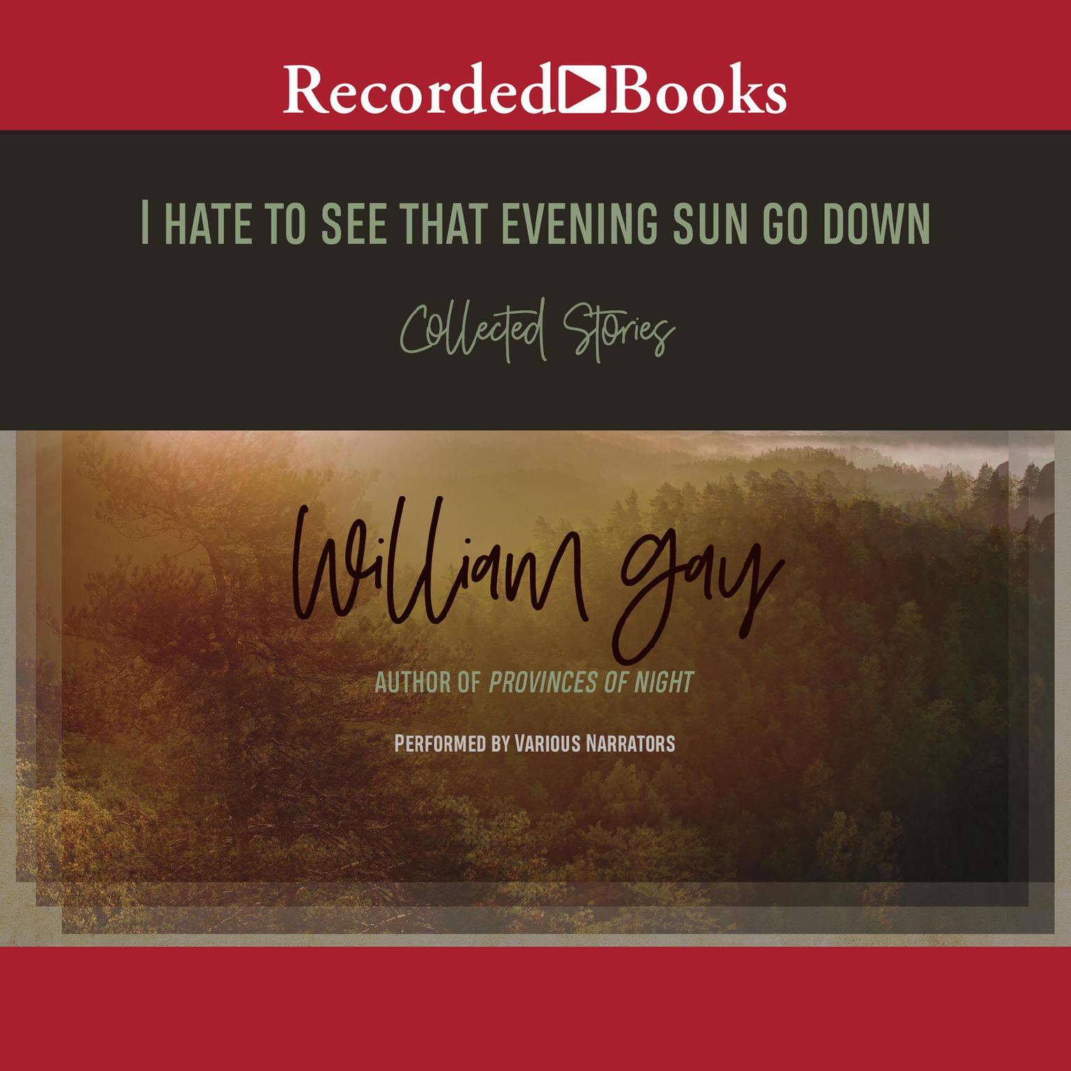 Printable I Hate to See That Evening Sun Go Down: Collected Stories Audiobook Cover Art