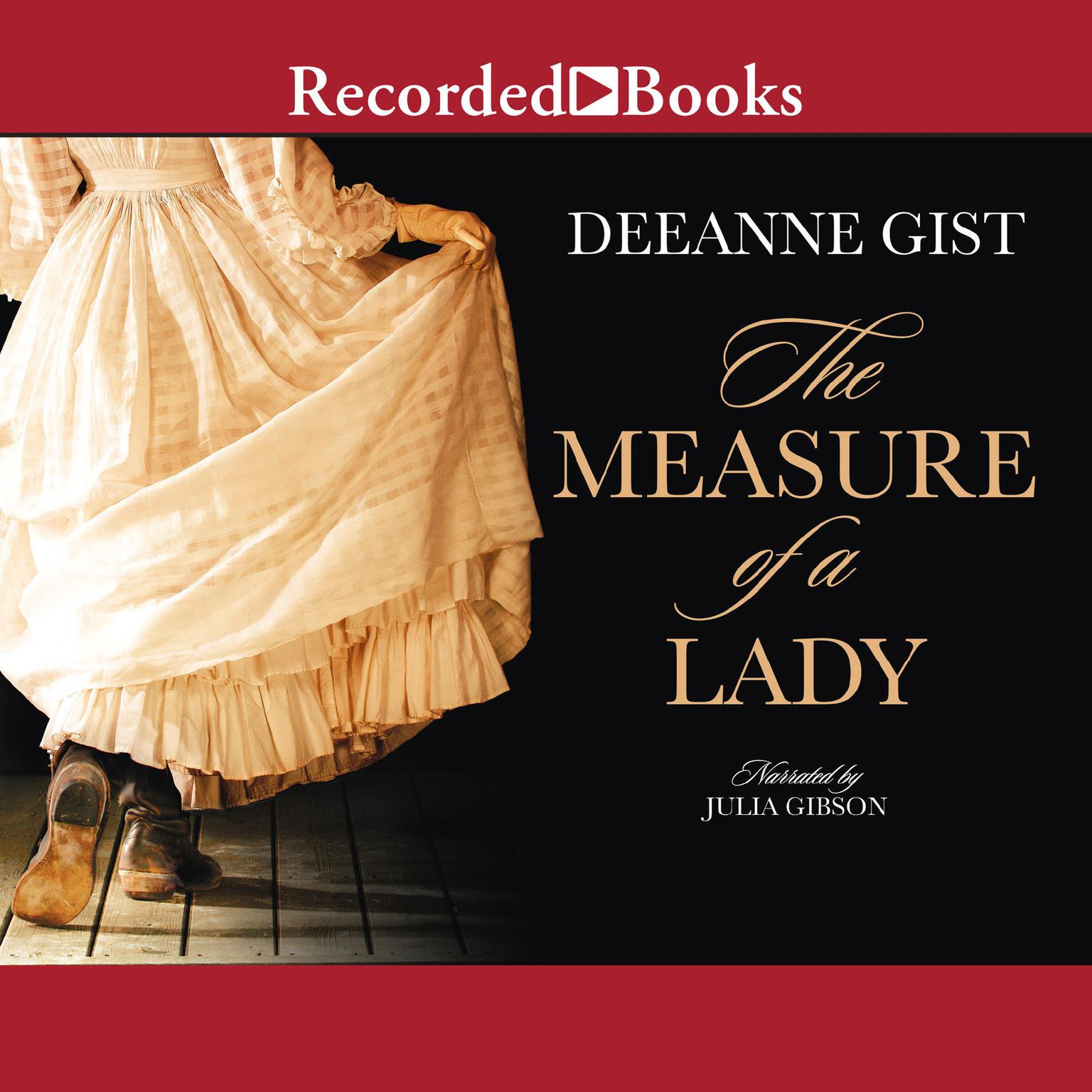 Printable The Measure of a Lady Audiobook Cover Art