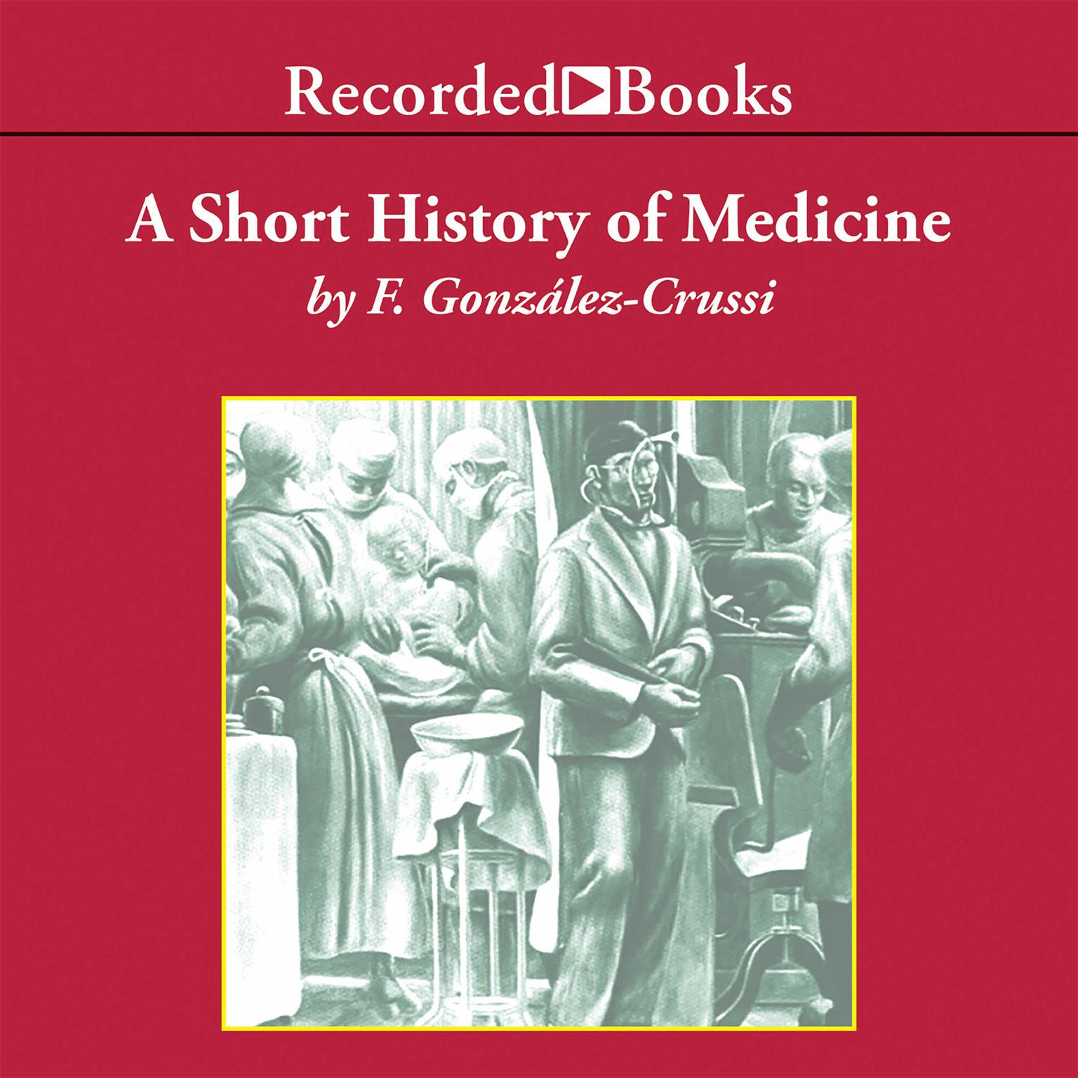 Printable A Short History of Medicine Audiobook Cover Art
