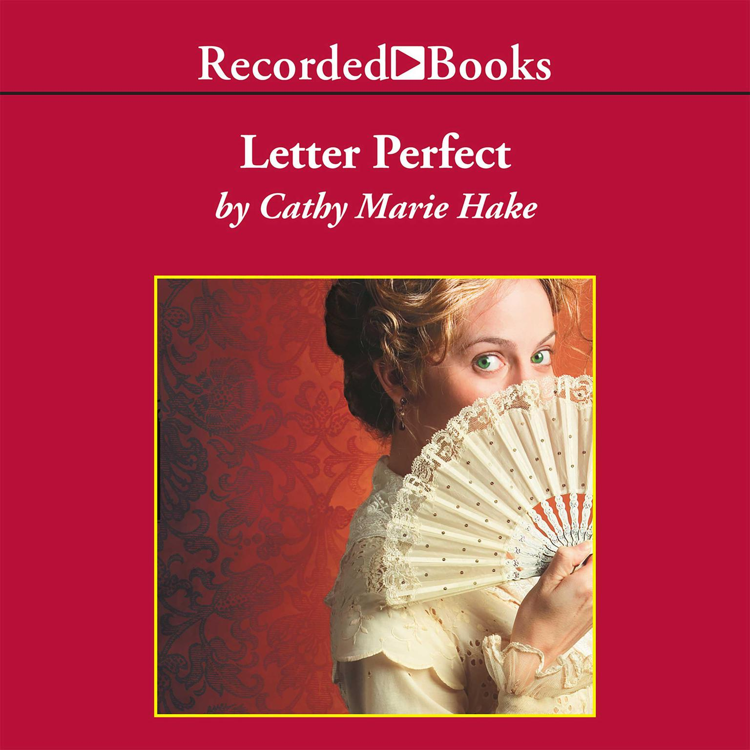 Printable Letter Perfect Audiobook Cover Art