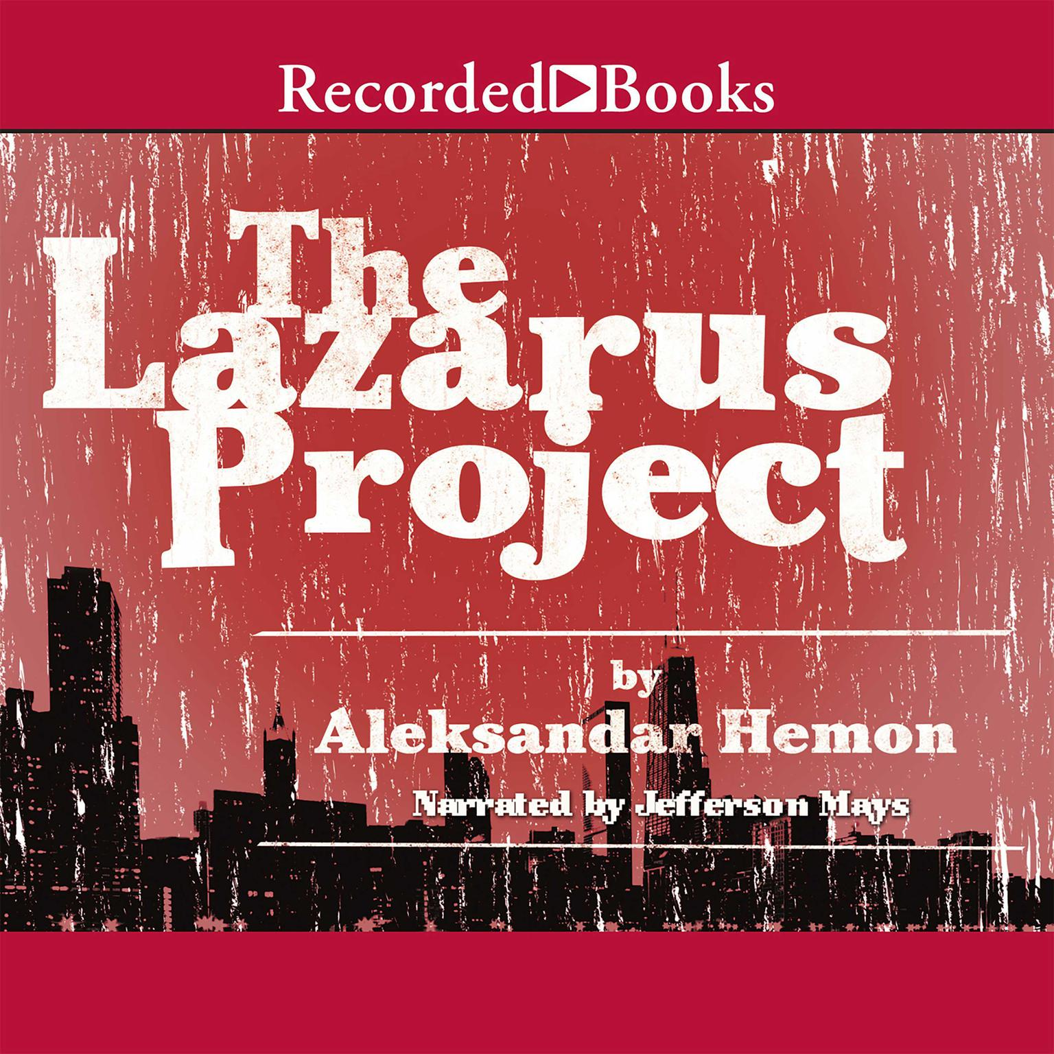 Printable The Lazarus Project Audiobook Cover Art