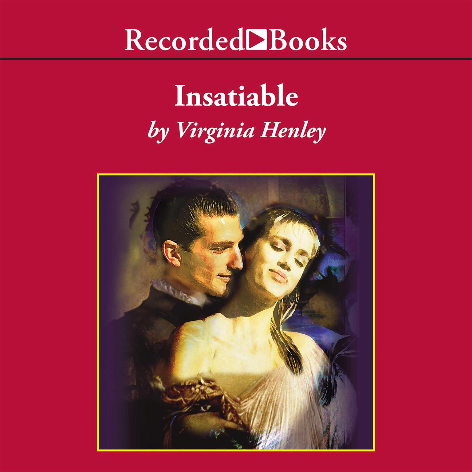 Printable Insatiable Audiobook Cover Art