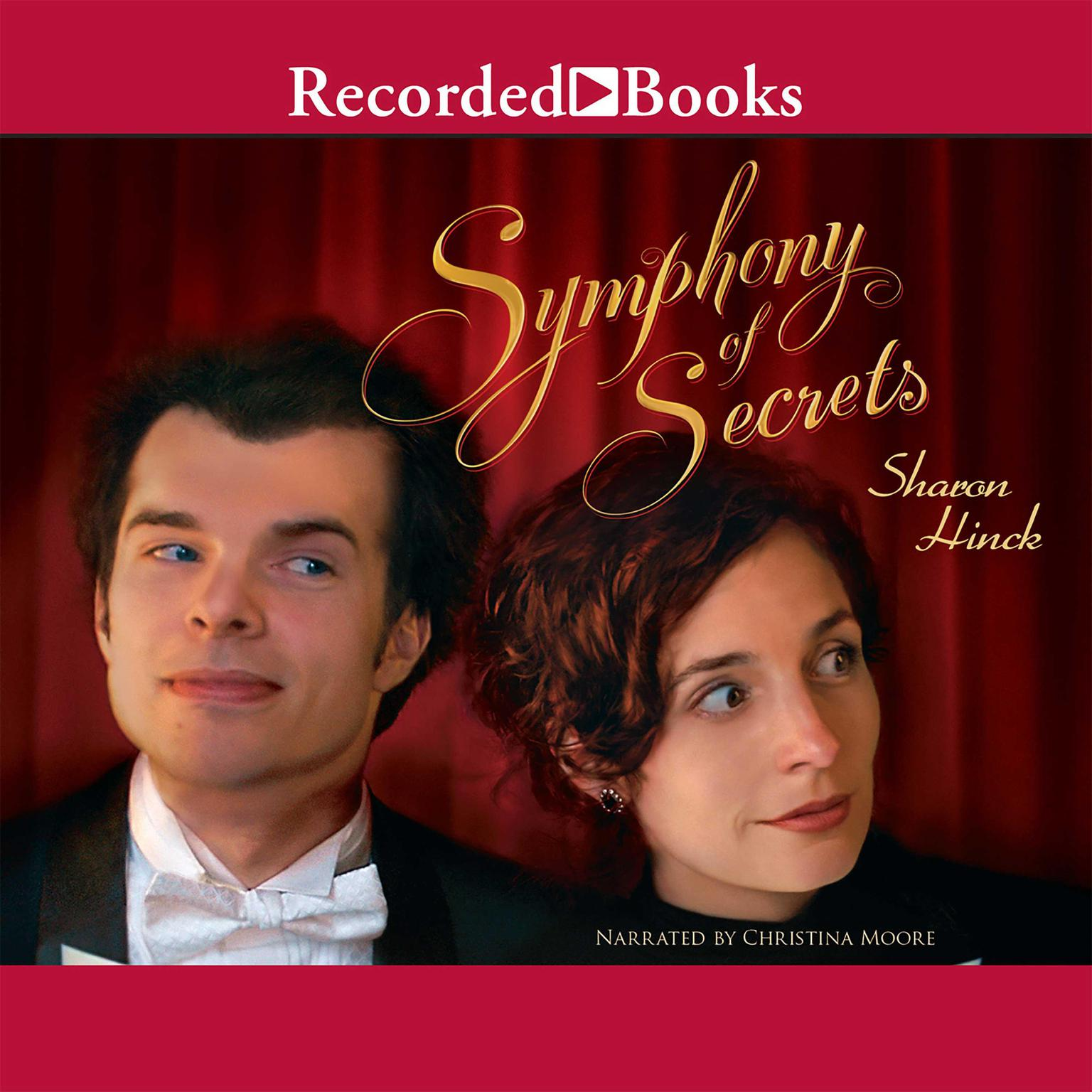 Printable Symphony of Secrets Audiobook Cover Art