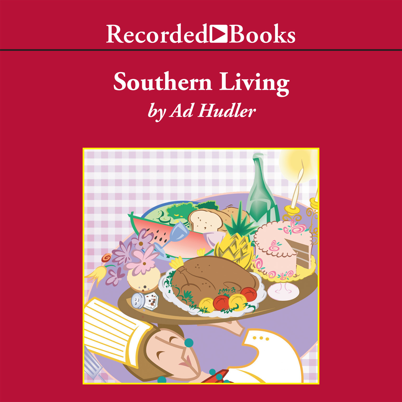 Printable Southern Living Audiobook Cover Art