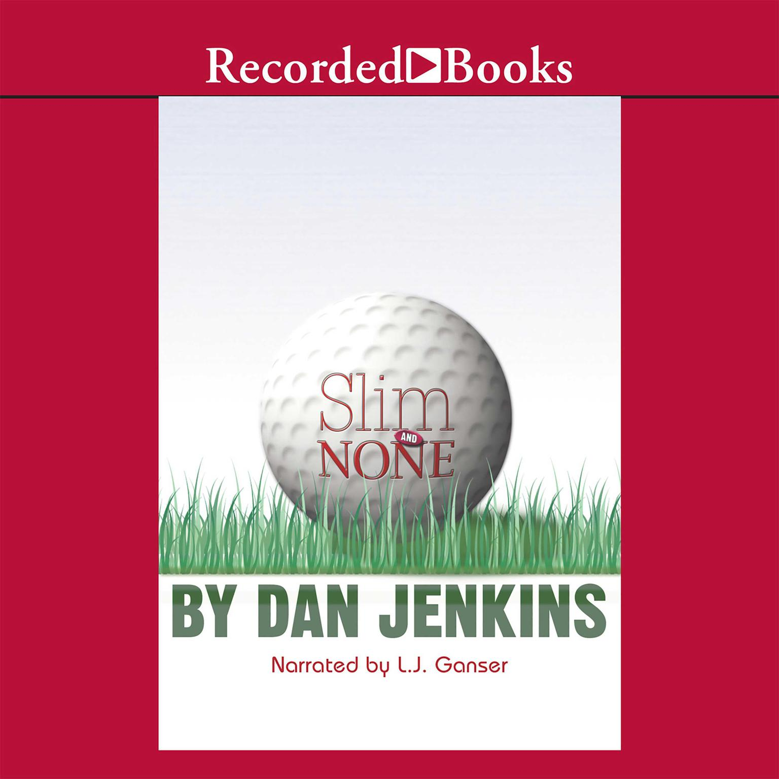 Printable Slim and None Audiobook Cover Art