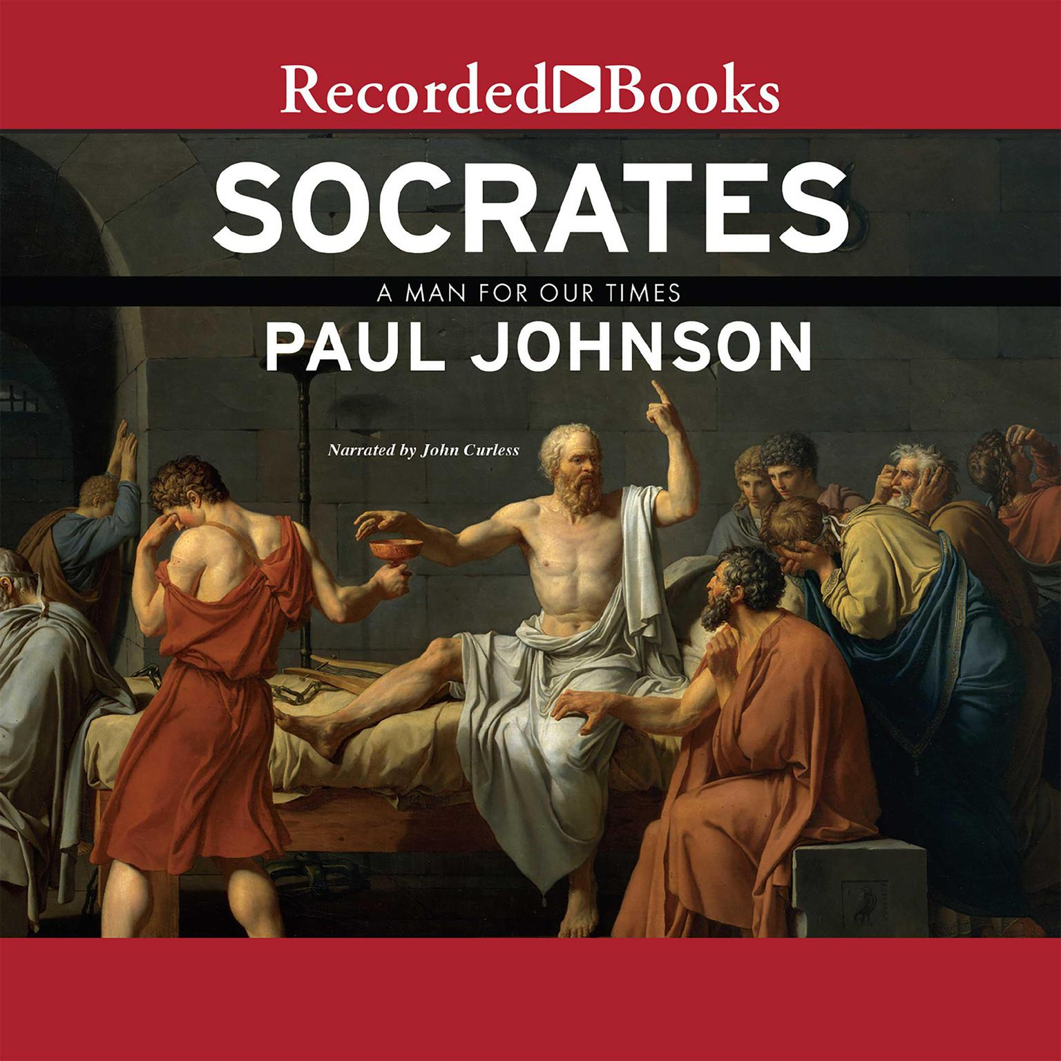 Printable Socrates: A Man for Our Times Audiobook Cover Art