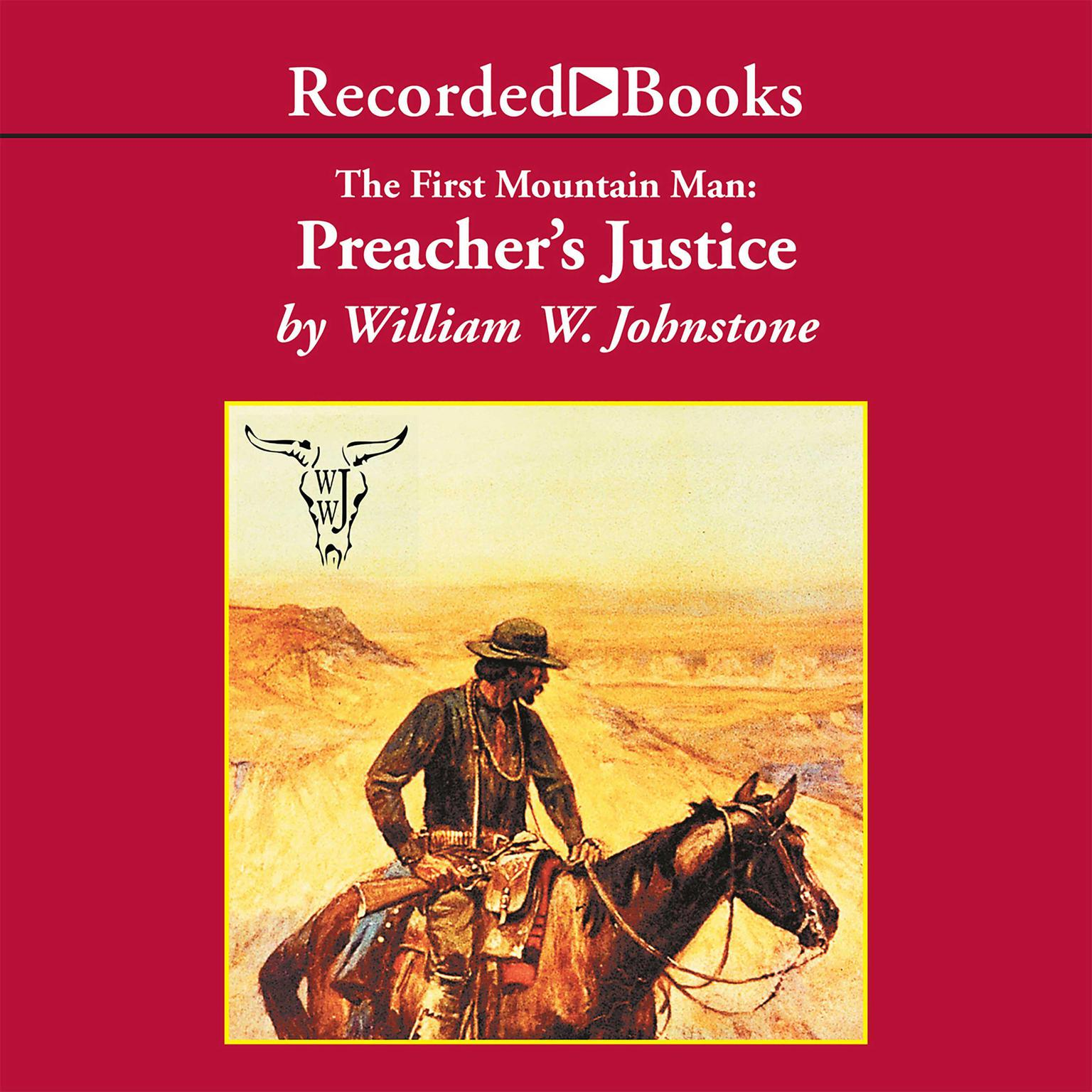 Printable Preacher's Justice Audiobook Cover Art