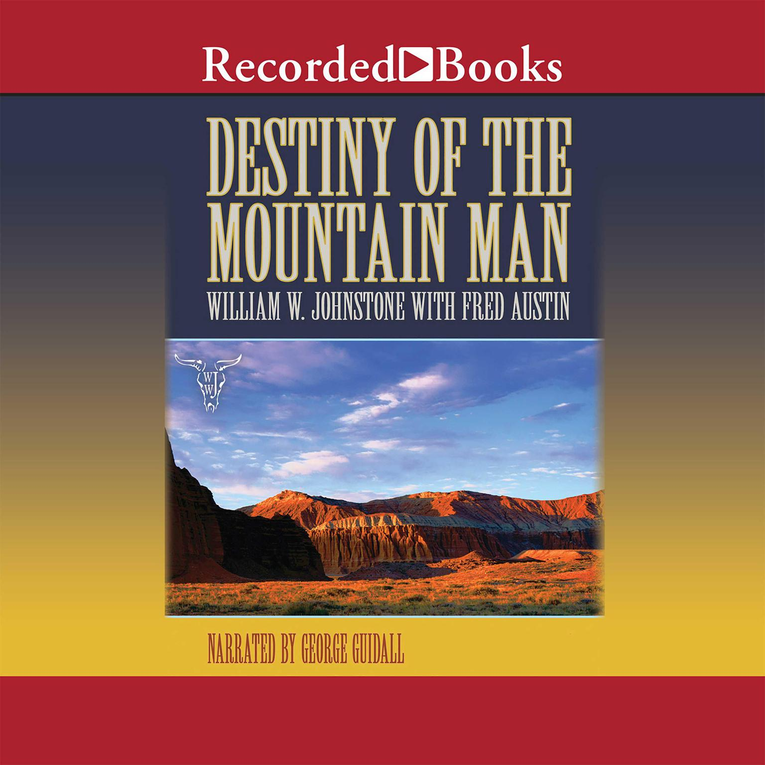 Printable Destiny of the Mountain Man Audiobook Cover Art
