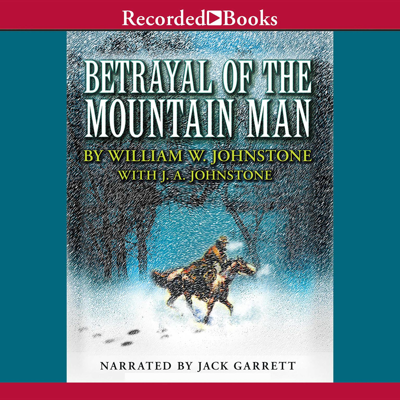 Printable Betrayal of the Mountain Man Audiobook Cover Art