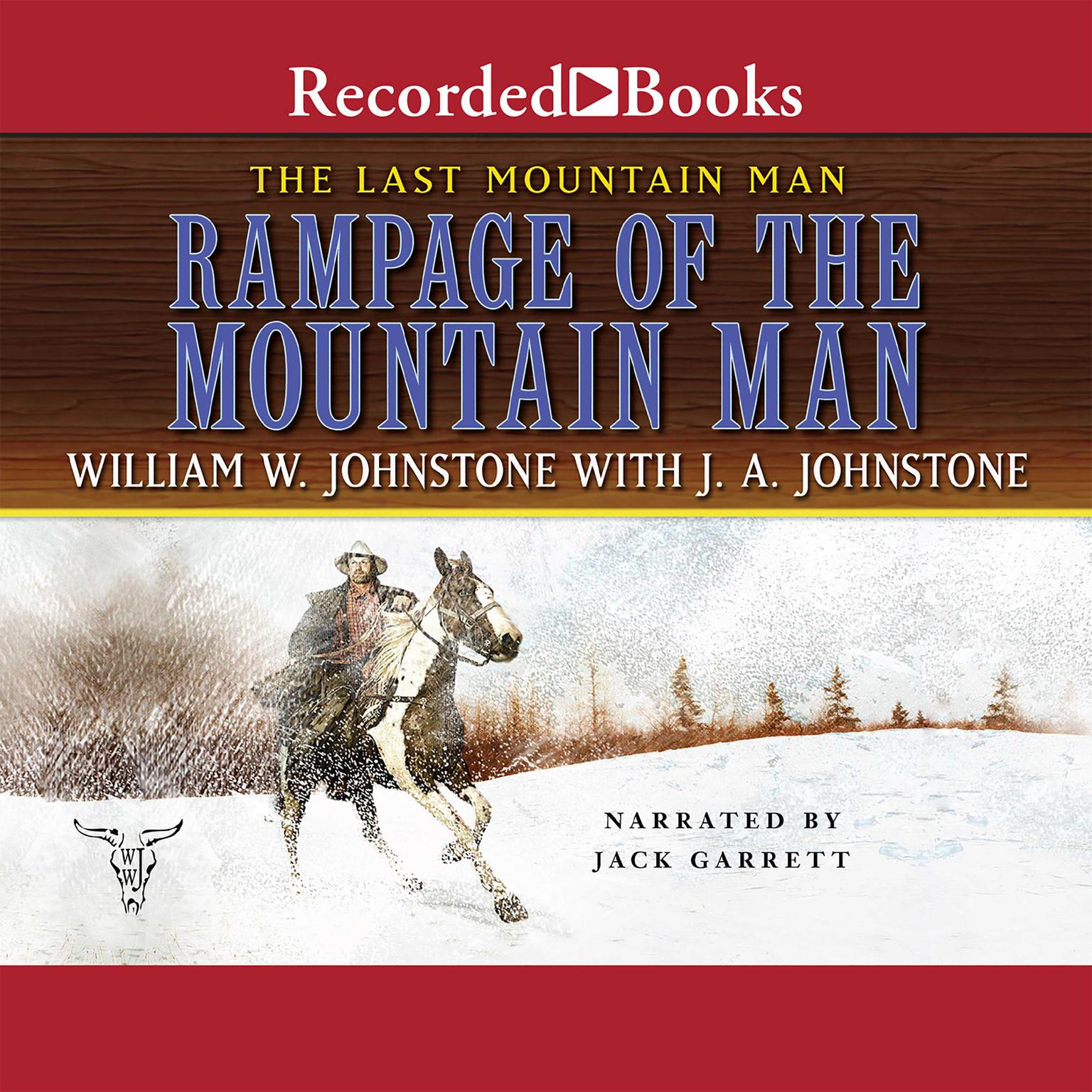 Printable Rampage of the Mountain Man Audiobook Cover Art