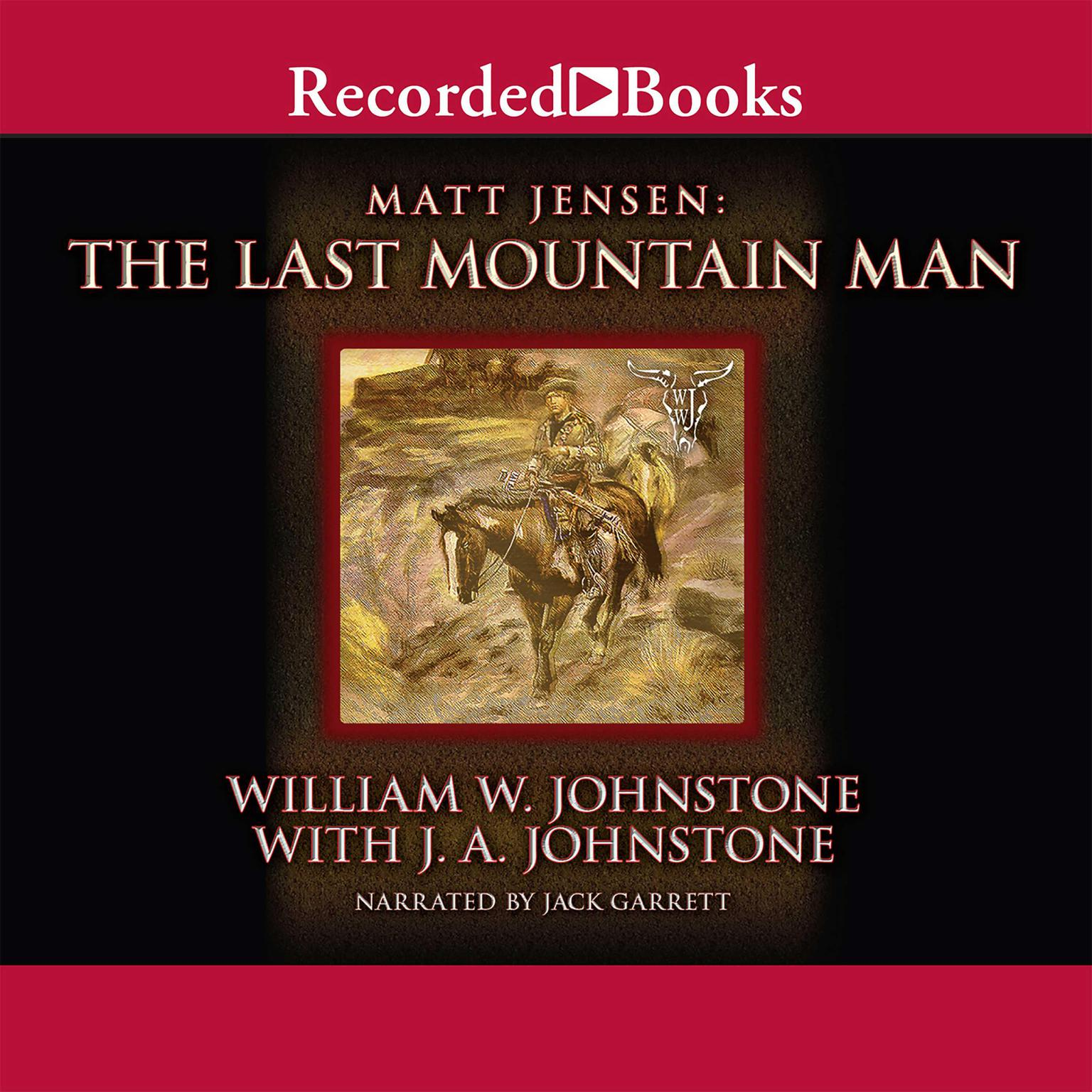 Printable The Last Mountain Man Audiobook Cover Art